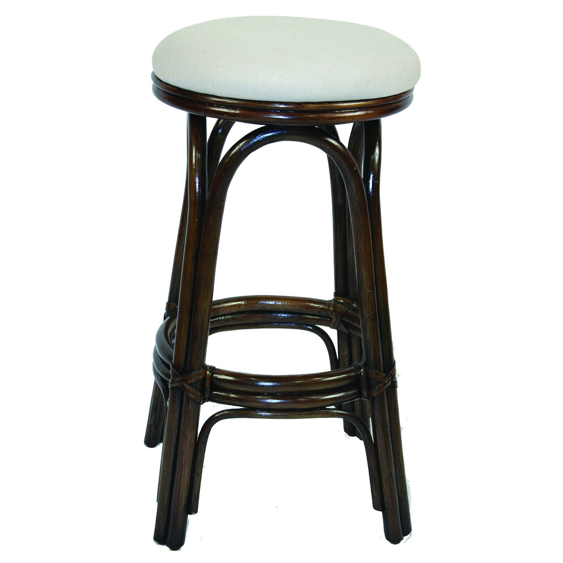 Hospitality Rattan Carmen 30 Quot Swivel Bar Stool Amp Reviews