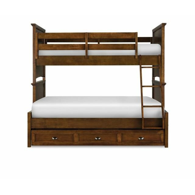 Riley Twin over Full Bunk Bed with Trundle