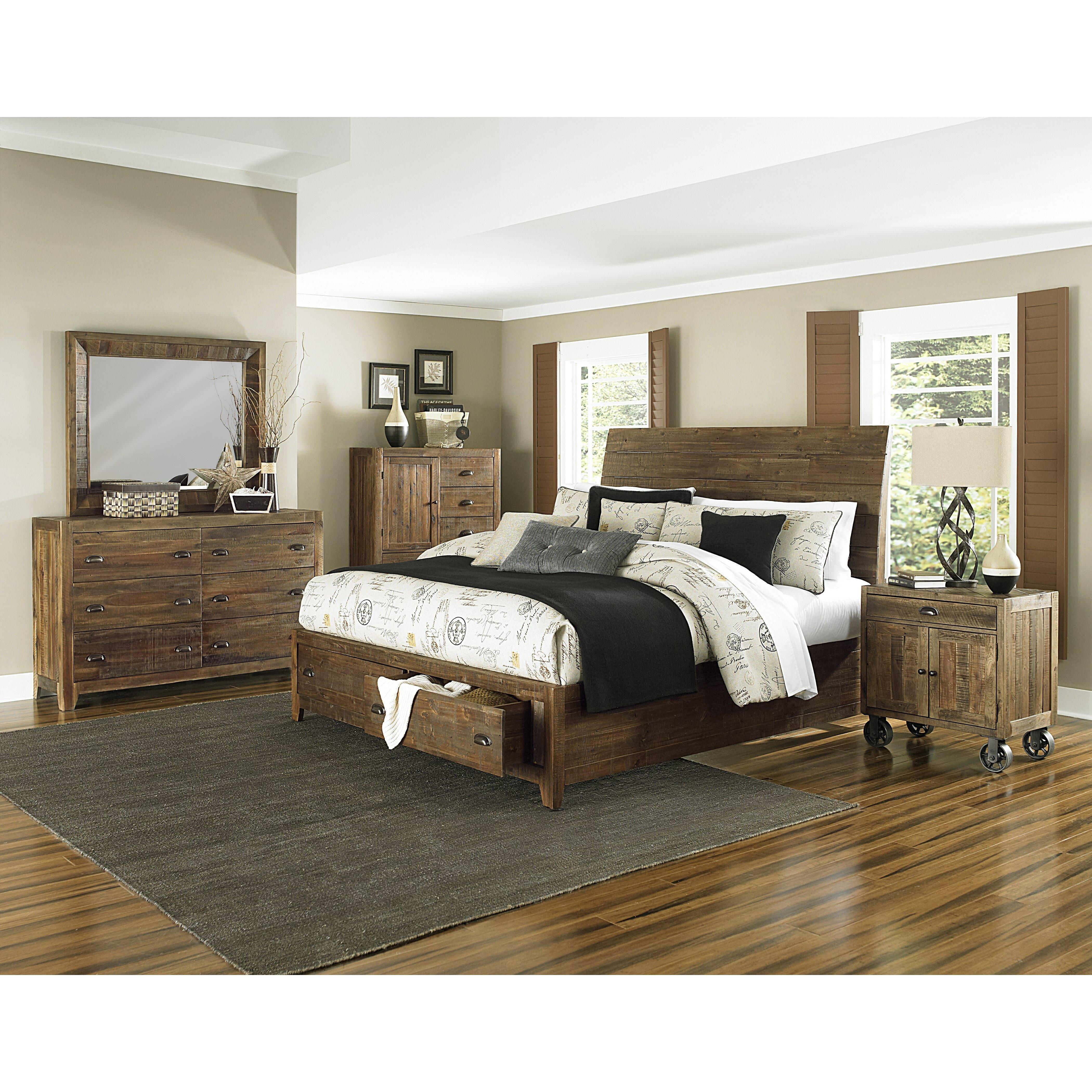 Magnussen River Ridge Panel Customizable Bedroom Set