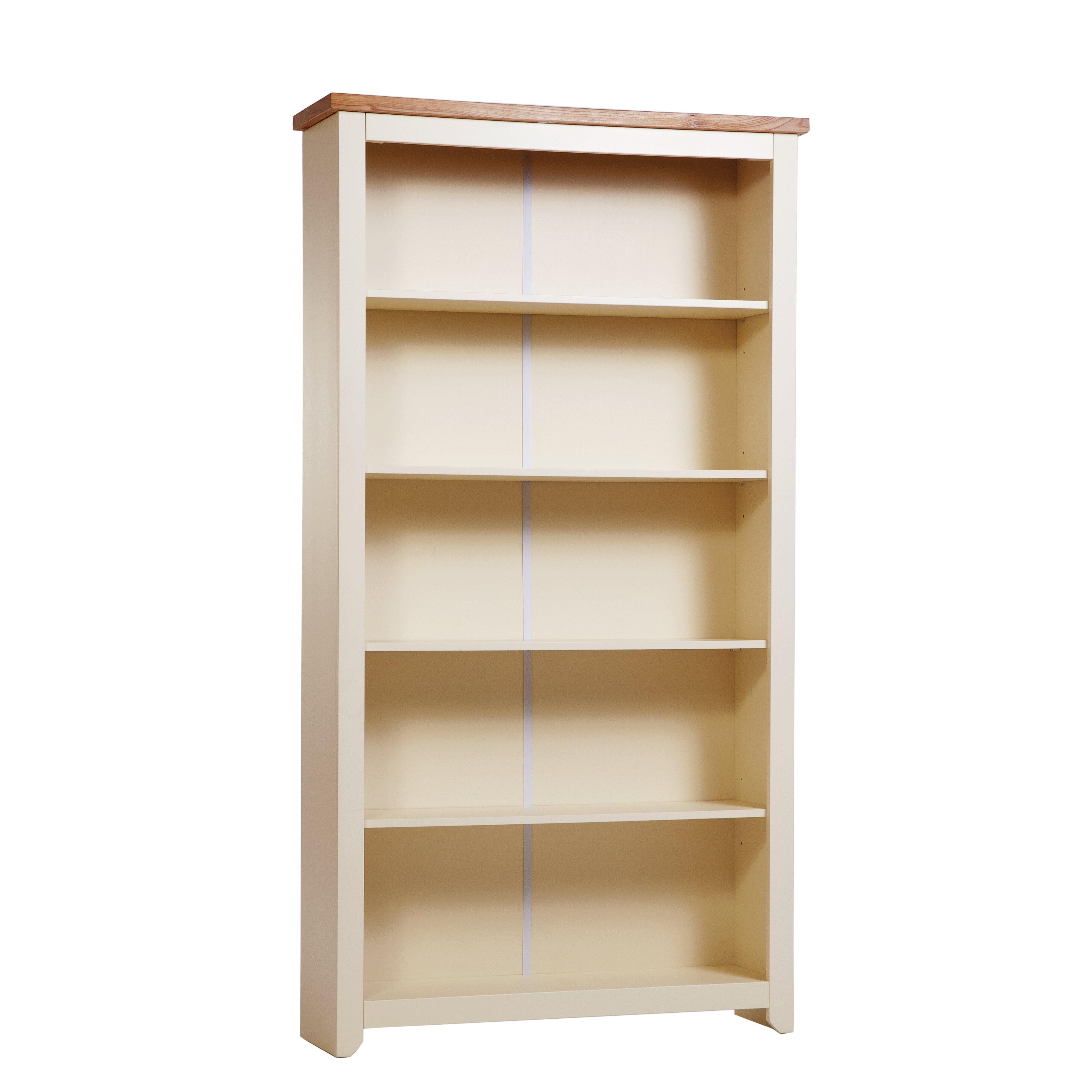 Creative Abdabs Furniture  Shetland Tall Wide 1 Door 4 Drawer Bookcase