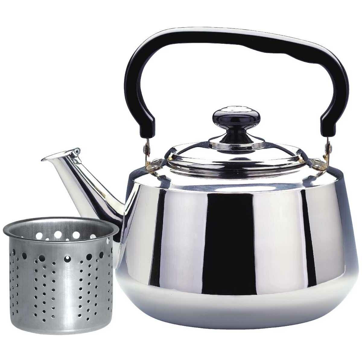 Stainless Steel Tea Kettle ~ Stainless steel tea kettle wayfair