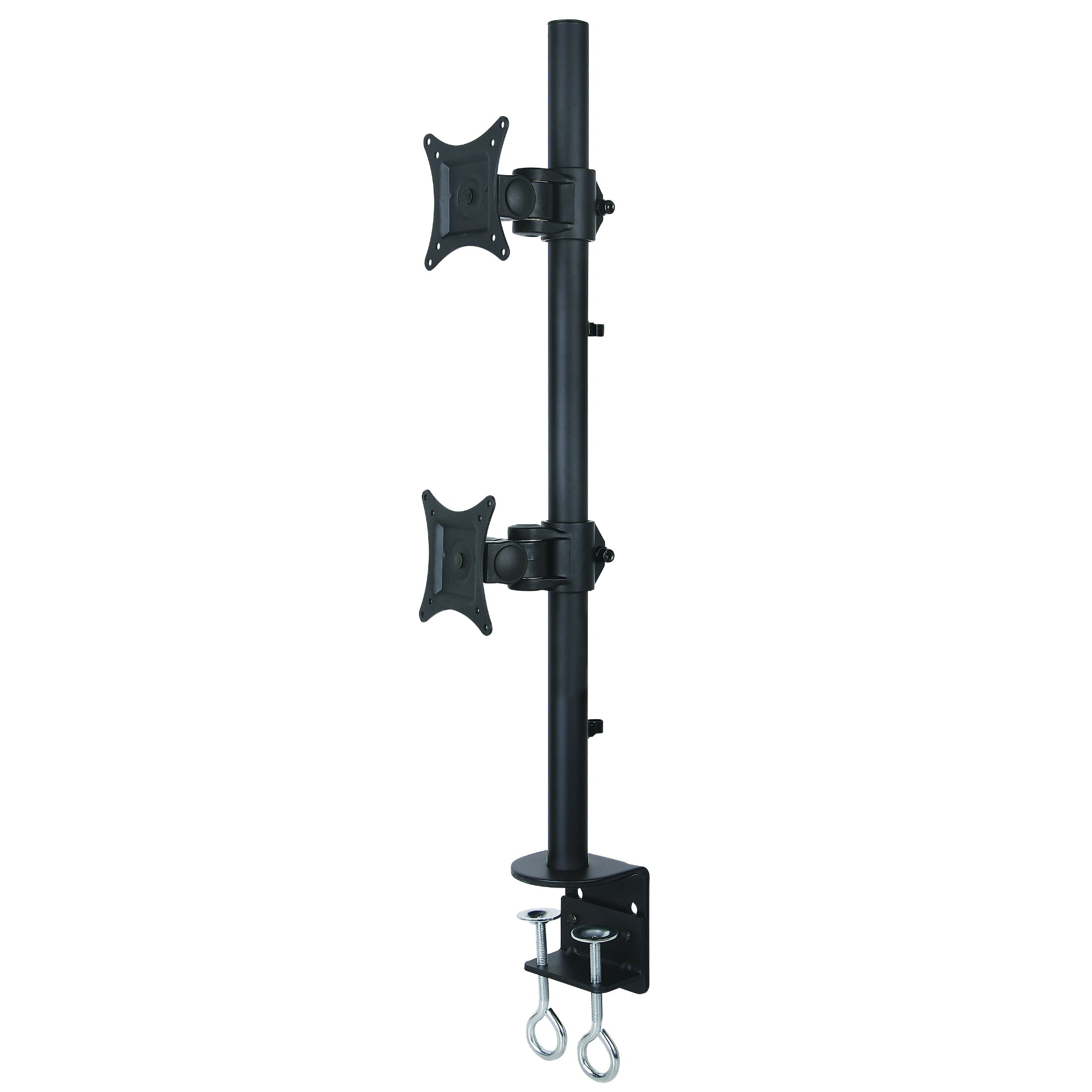 Dual LCD Monitor Heavy Duty Stacked Vertical 2 Screens  : Vivo Dual LCD Monitor Height Adjustable 2 Screen Desk Mount Stand STAND V002T Amazon Desk Chair Mat from www.wayfair.com size 2200 x 2200 jpeg 168kB