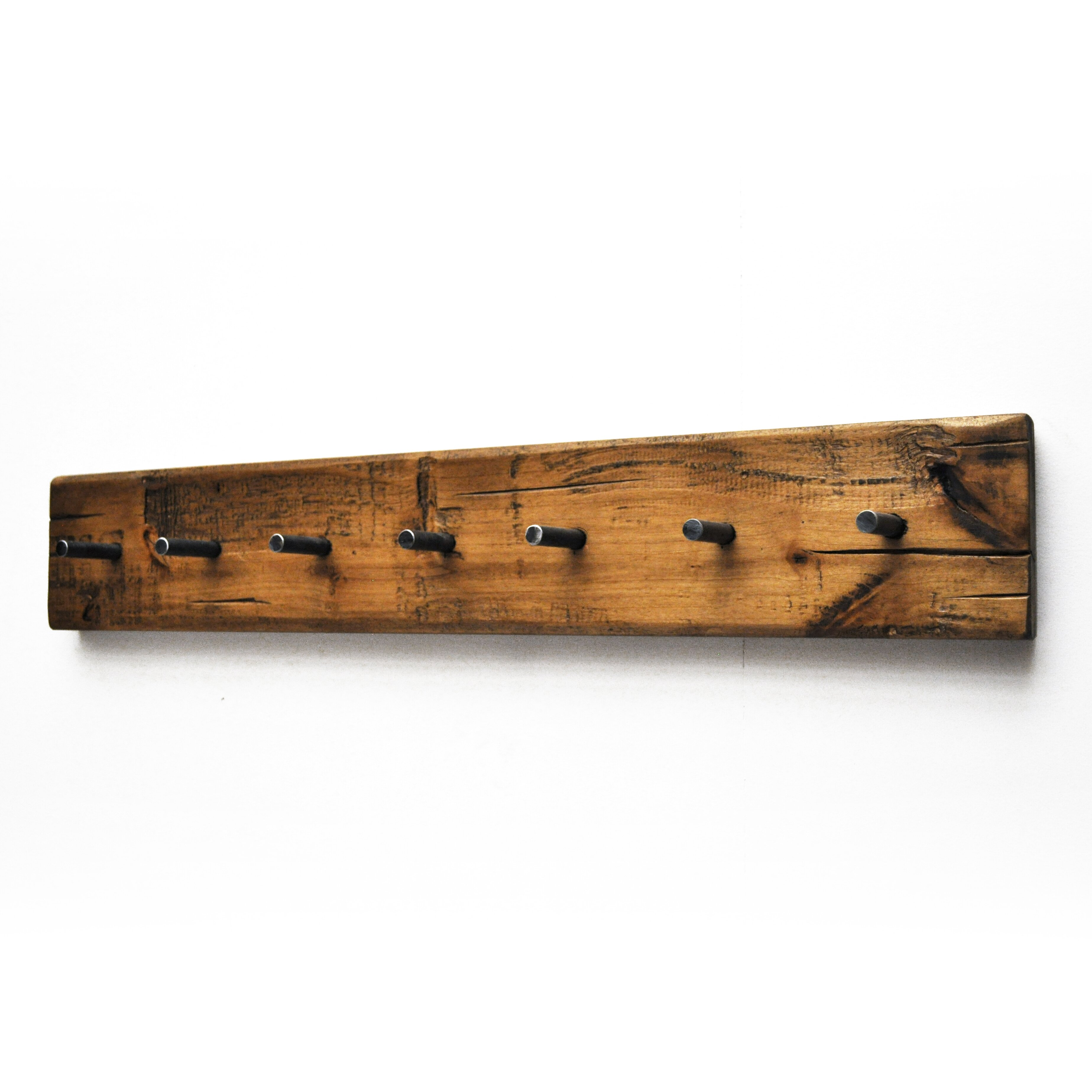 dogberry collections rustic plank wall mounted coat rack. Black Bedroom Furniture Sets. Home Design Ideas
