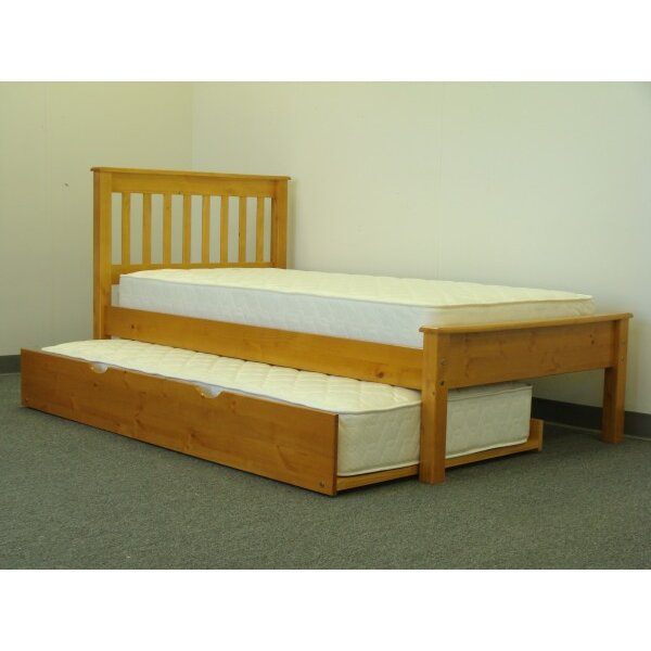 twin trundle bed converts to king 3