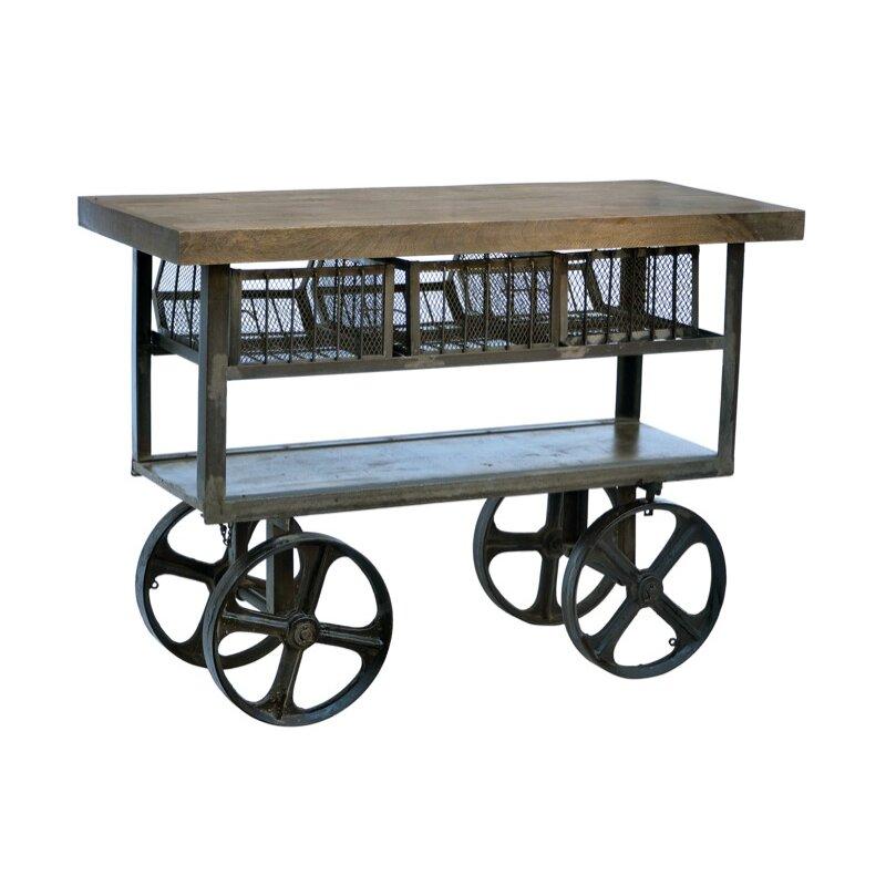 Alera Industrial Kitchen Carts At Lowes Com: CDI International Industrial Kitchen Cart With Mango Top