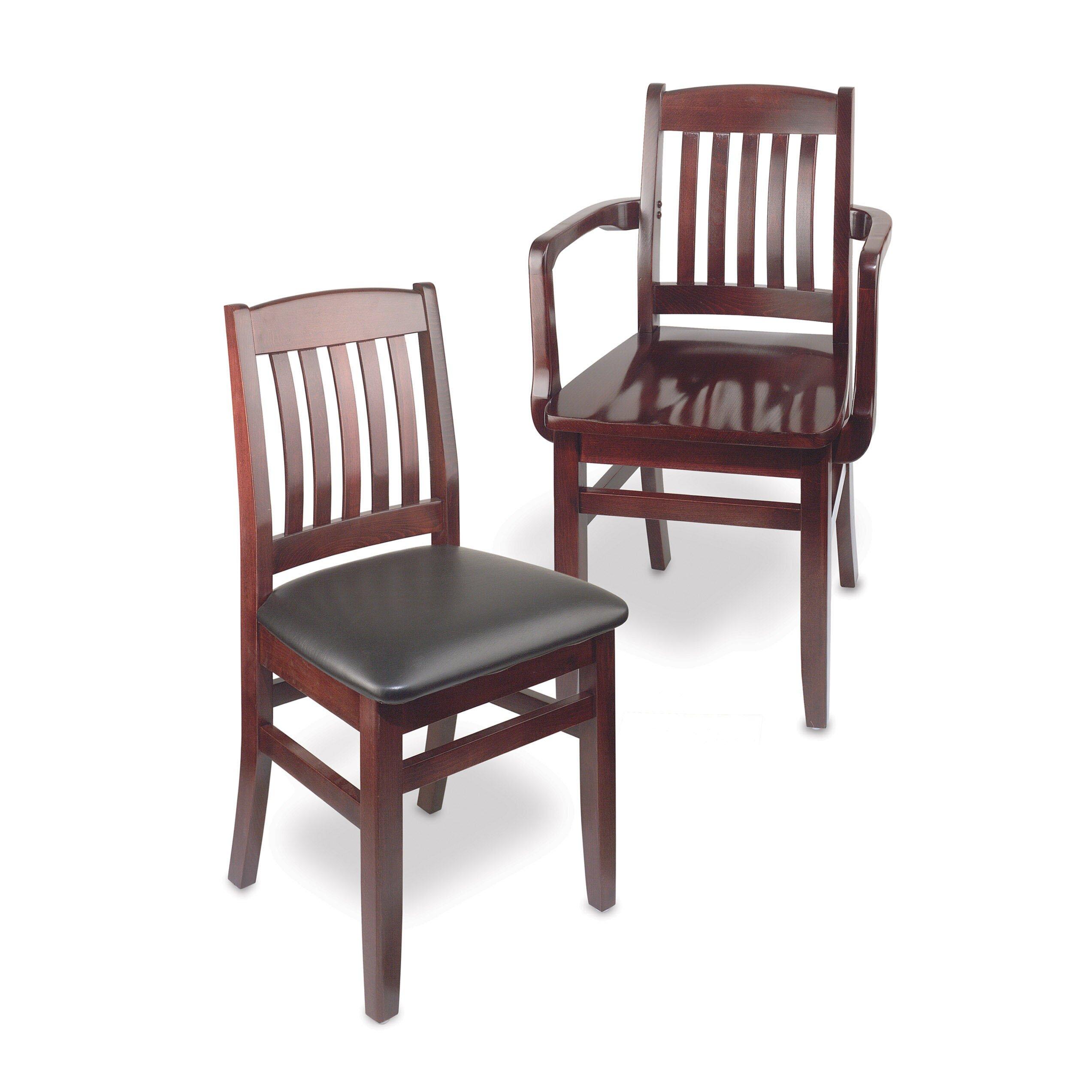 Bulldog Wood Chair ~ Holsag bulldog side chair reviews wayfair