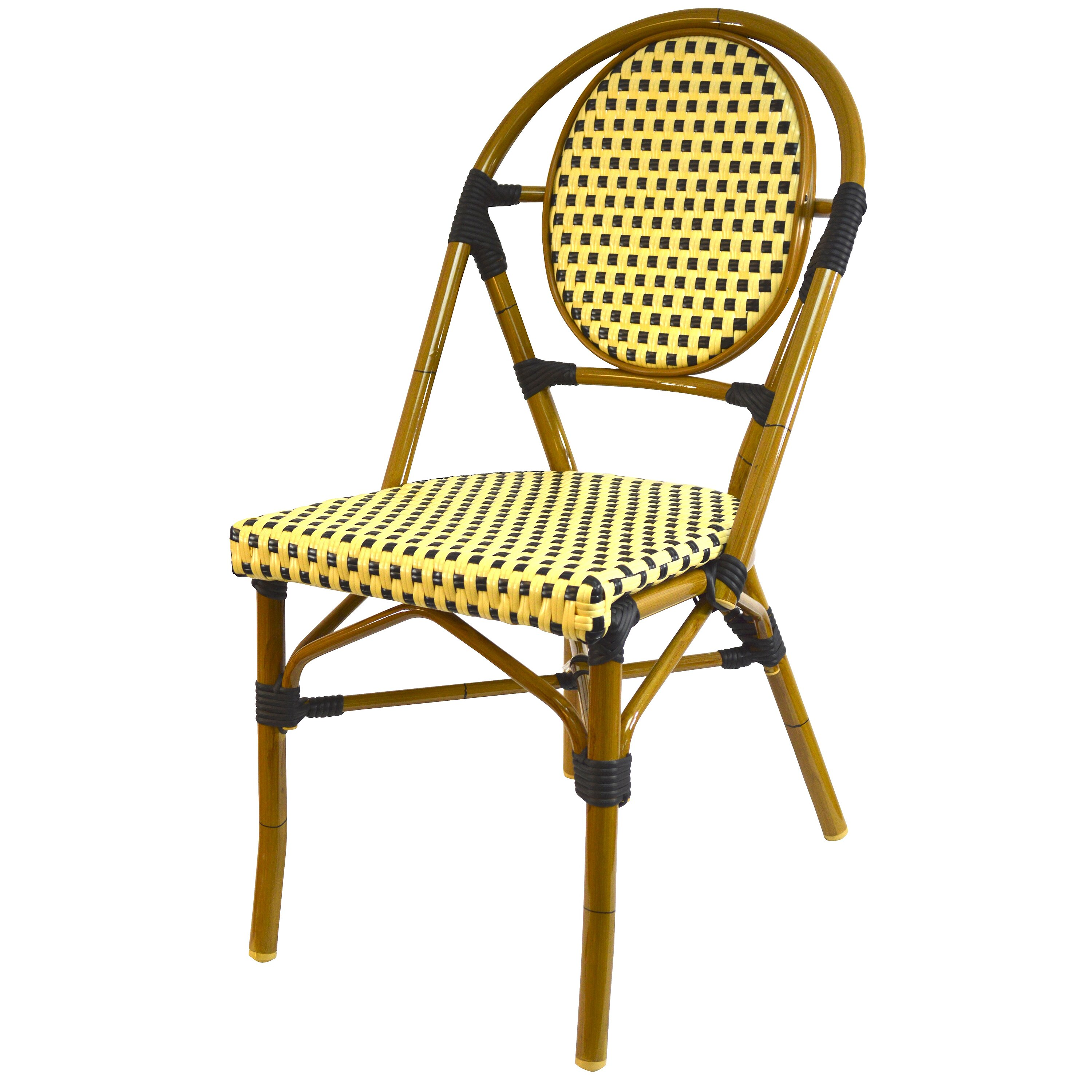 Stacking Dining Room Chairs: French Stacking Dining Side Chair