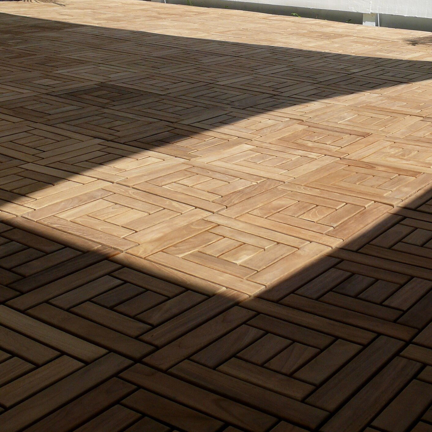 Teak Patio Flooring Tiles Home Design Ideas and