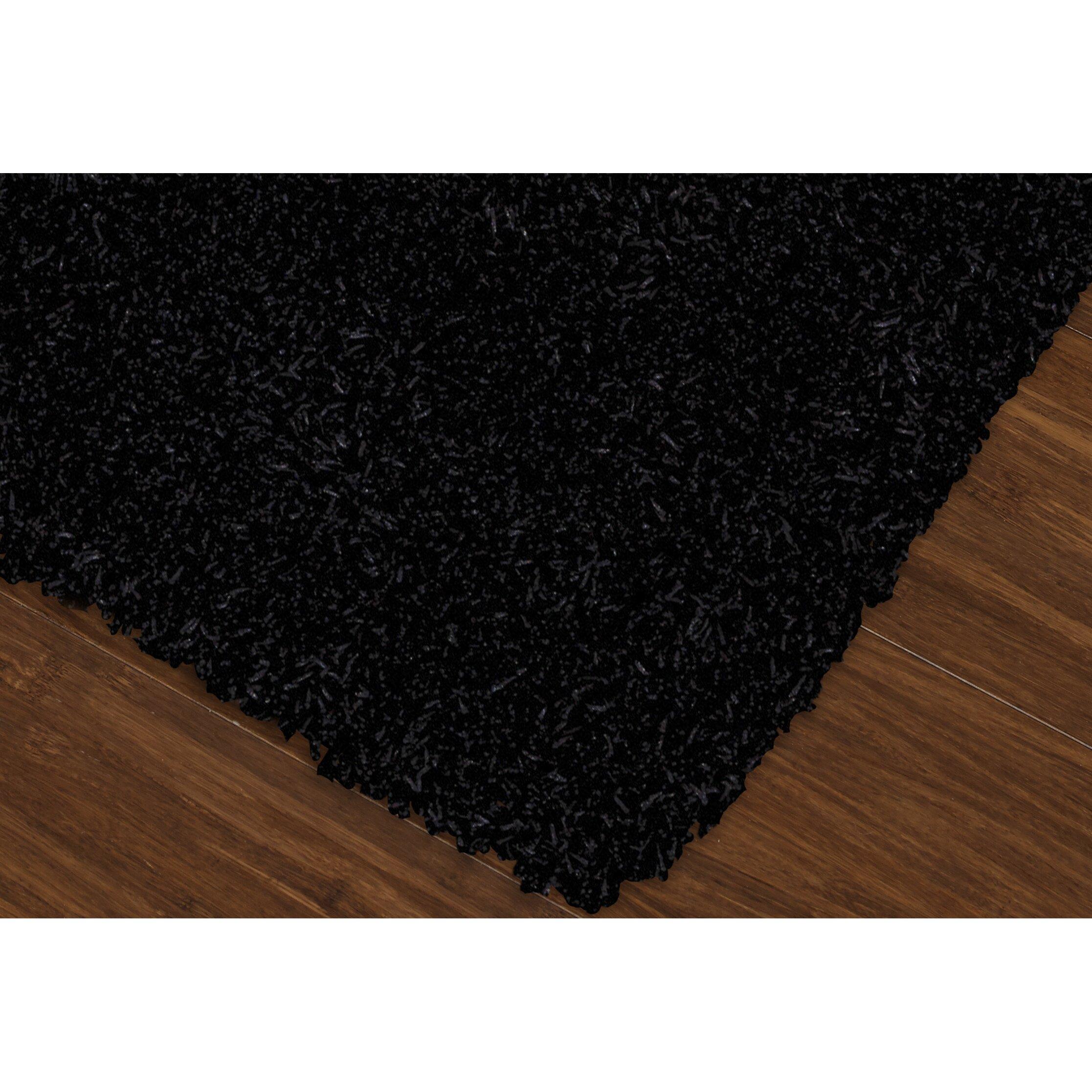 Black Shag Area Rugs Shag Shag 5 Black