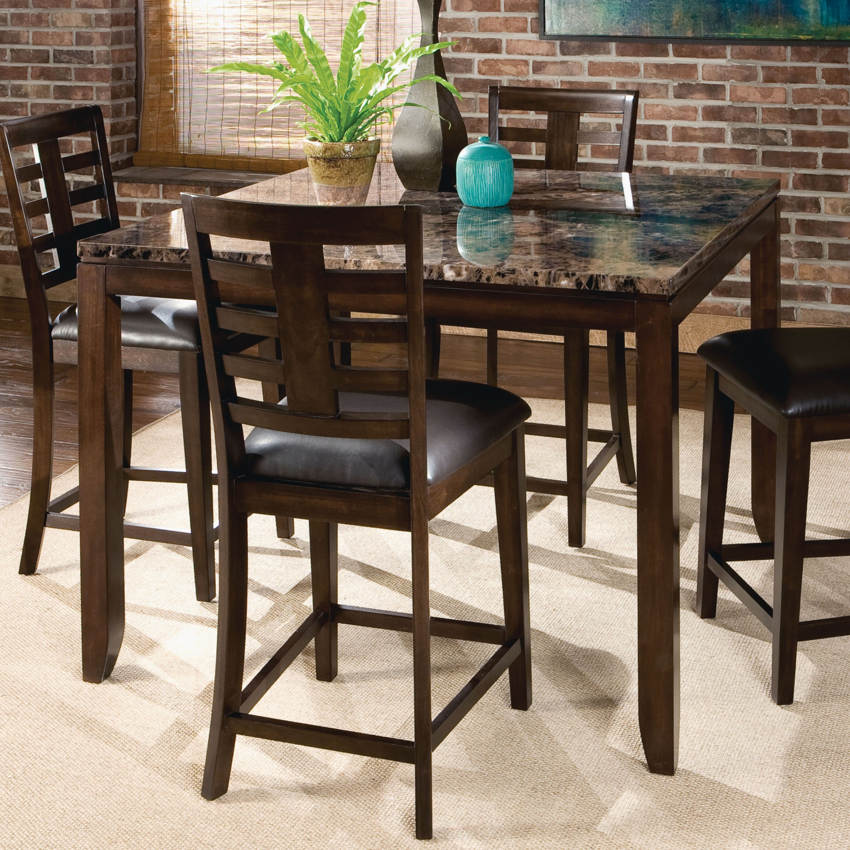 Average Dining Room Table Height: Standard Furniture Bella Counter Height Dining Table