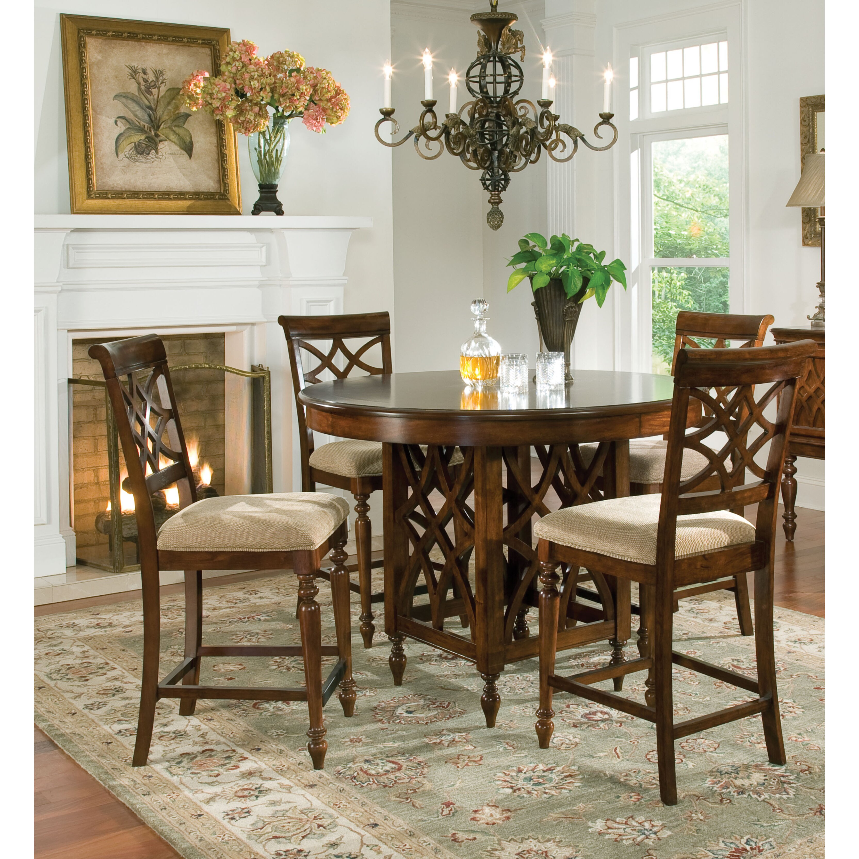 Standard Furniture Woodmont 5 Piece Dining Set Amp Reviews
