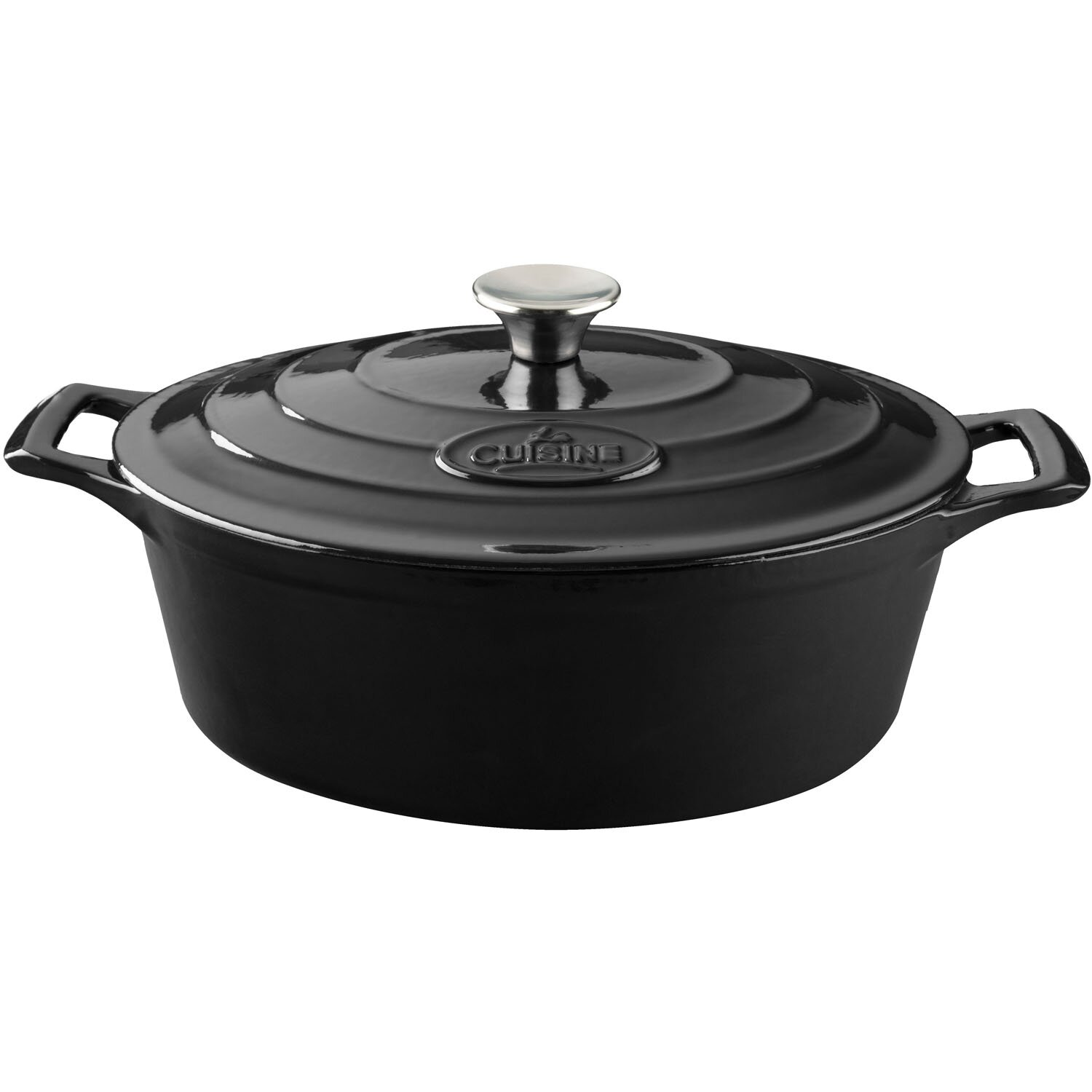 La cuisine oval casserole reviews wayfair for Art and cuisine cookware