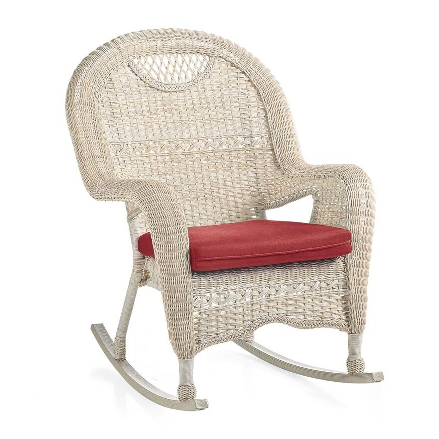 Outdoor Patio Furniture ... Wicker/Rattan Patio Rocking Chairs Plow ...