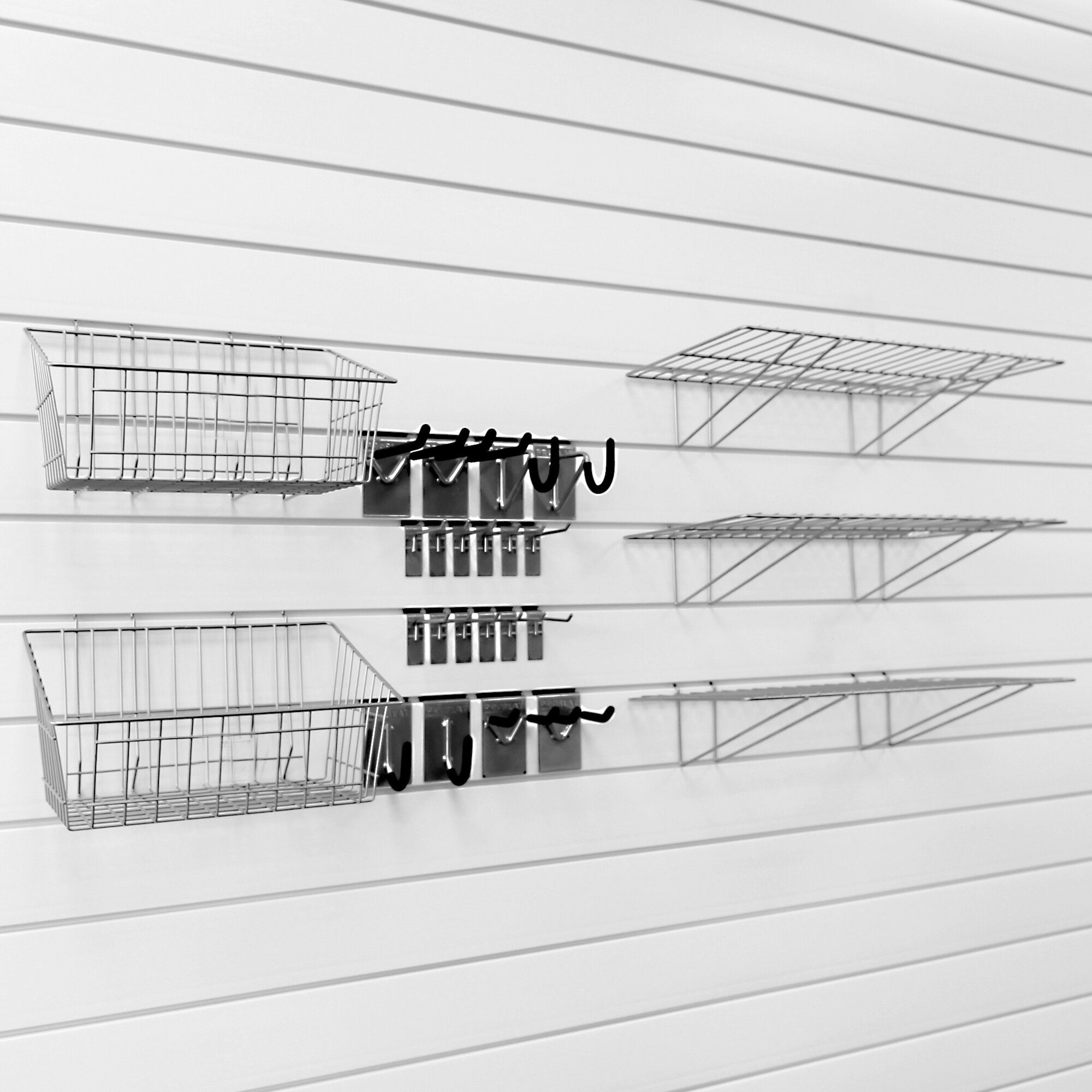 Proslat Ultimate Bundle Wall Panels Kit Amp Reviews Wayfair