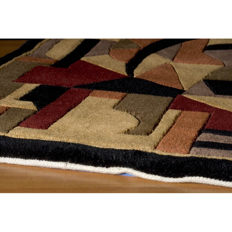 New Wave Pomegranate Area Rug