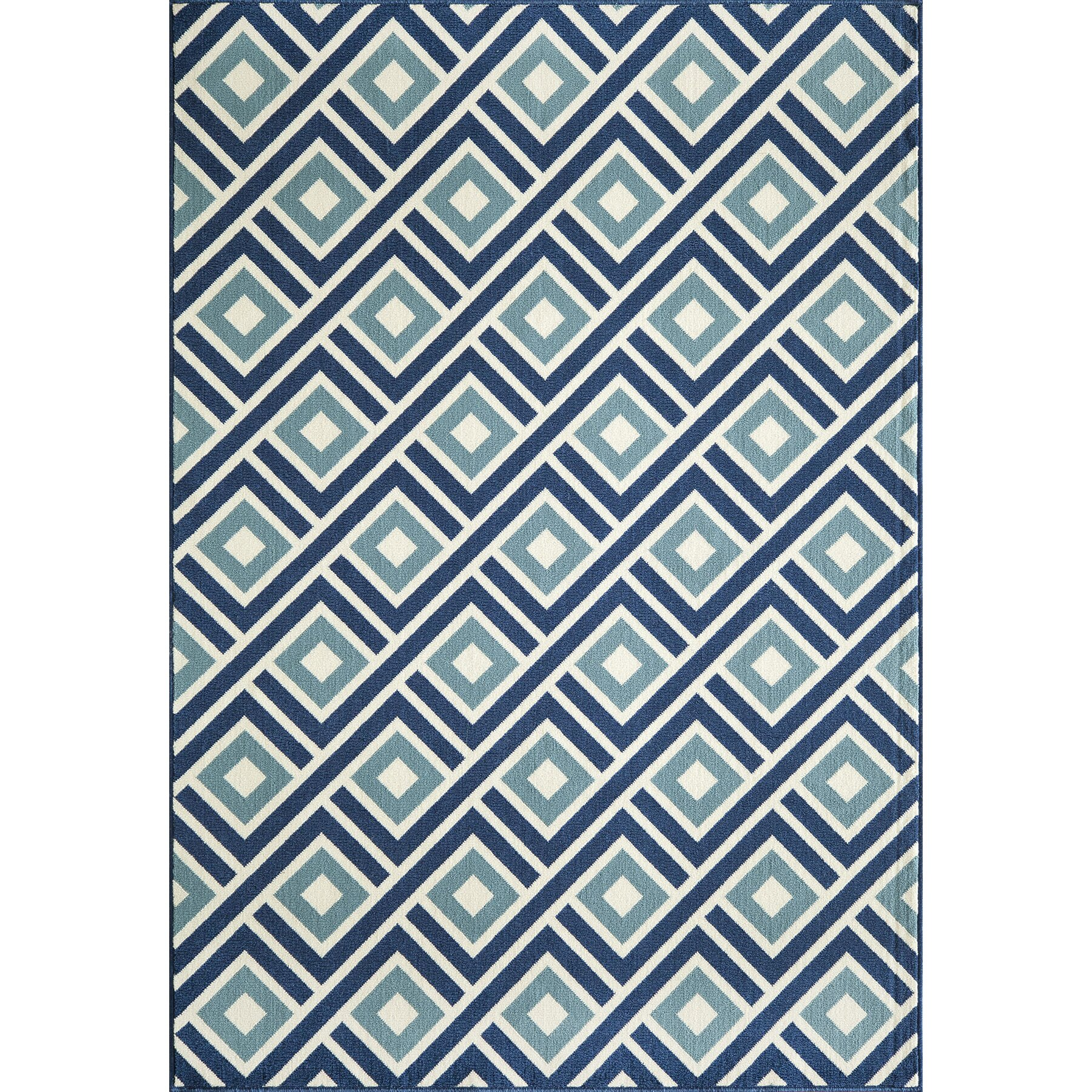 Momeni Baja Blue Indoor Outdoor Area Rug & Reviews
