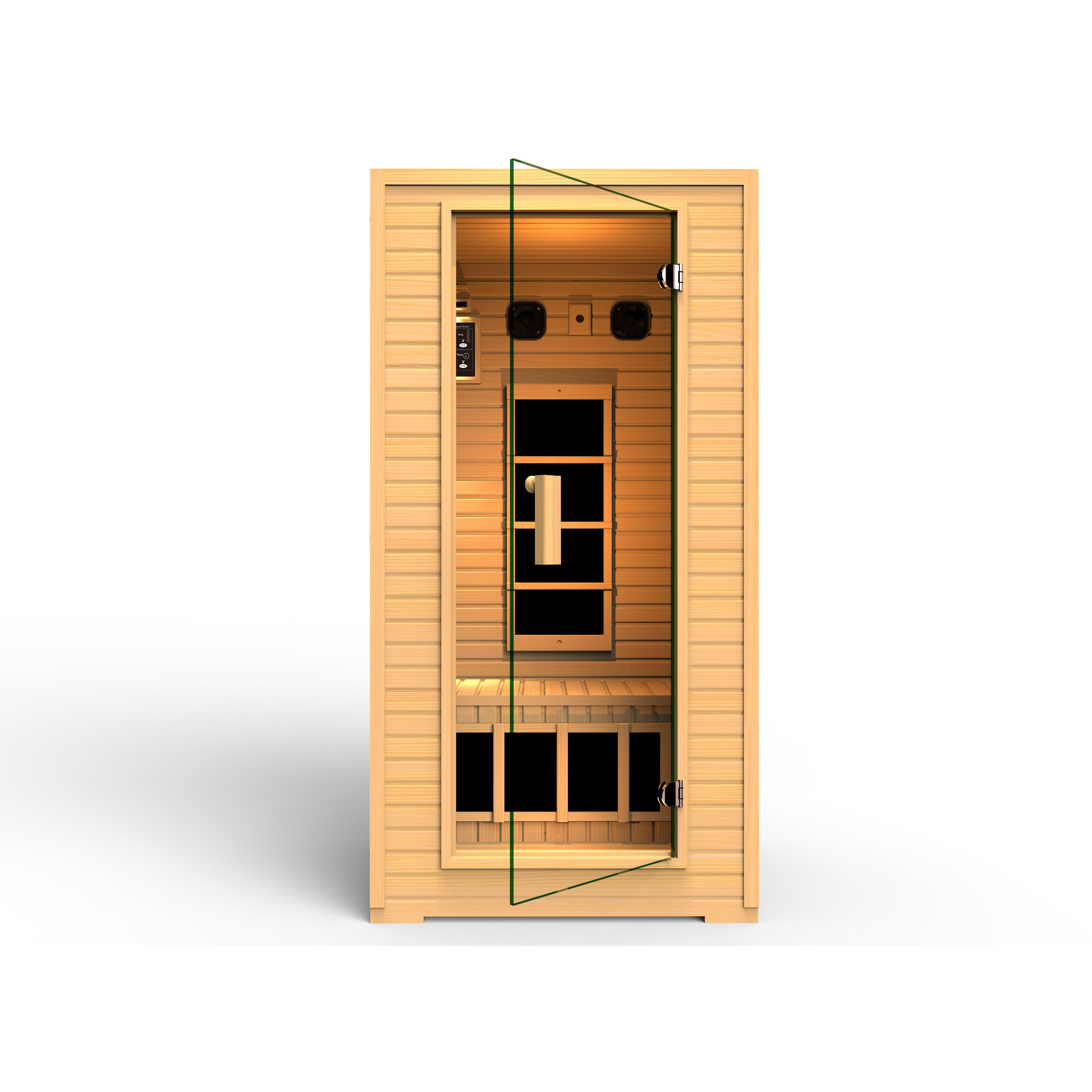 vivo 12 person carbon far infrared sauna wayfair