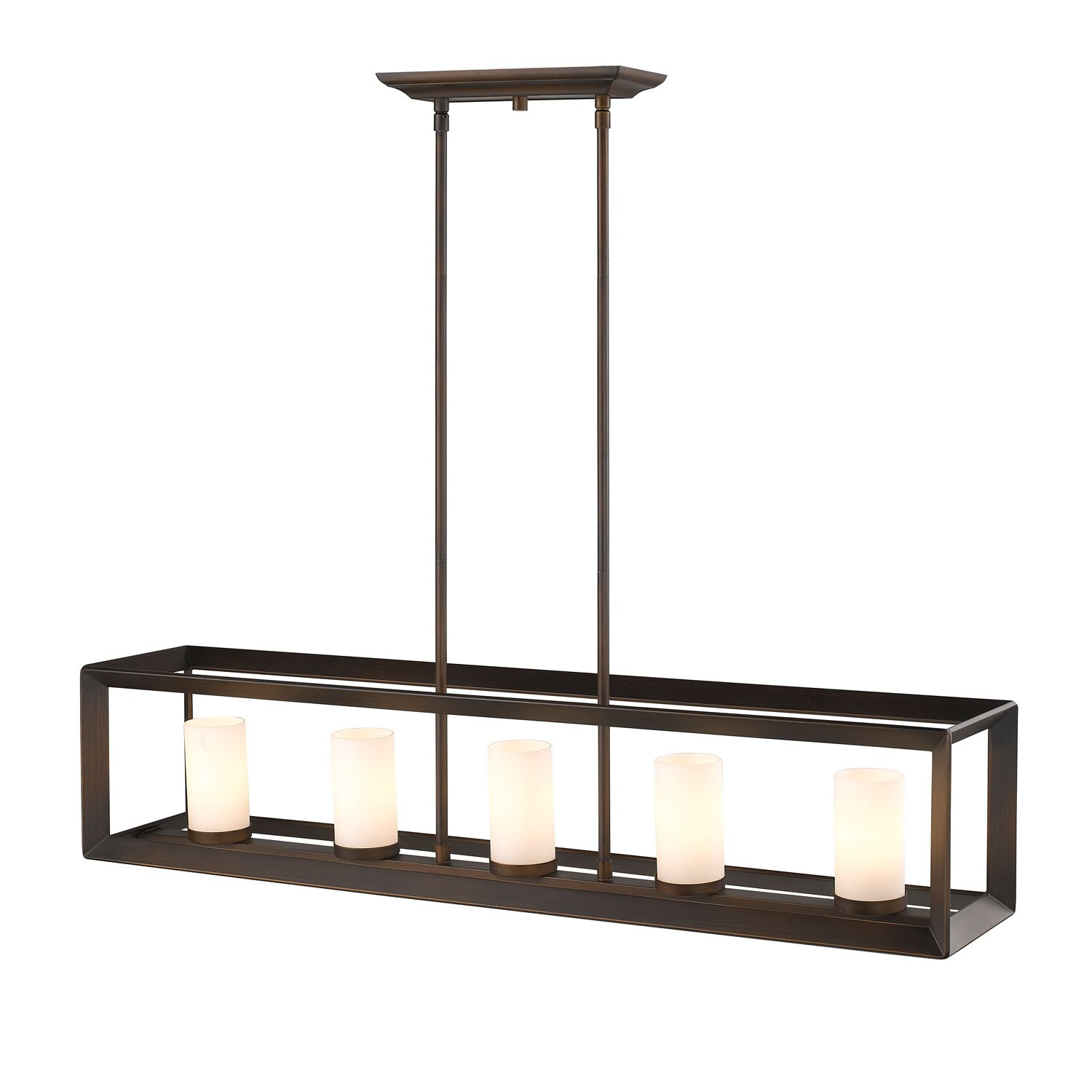 Kitchen Island Lantern Pendants: Mercury Row Kitchen Island 5 Light Pendant & Reviews
