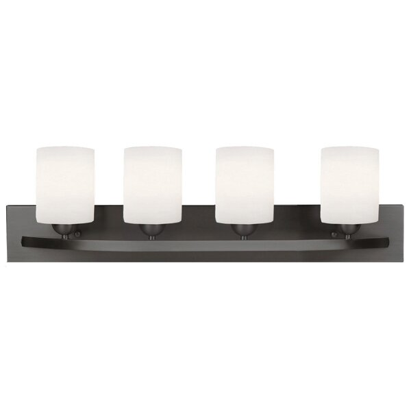 Bathroom Vanity Lights Too Hot : Mercury Row Wally 4 Light Vanity Light & Reviews Wayfair
