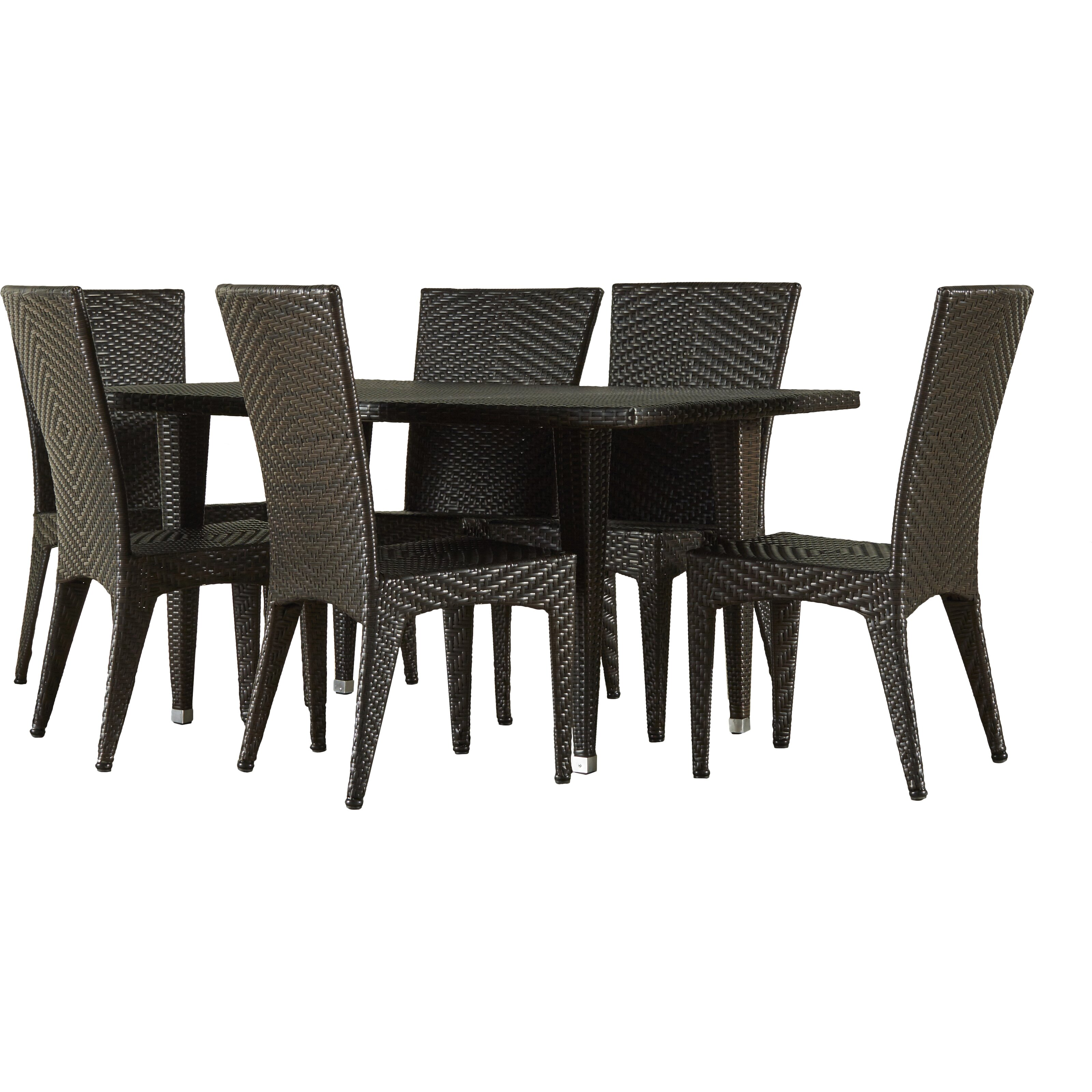 most effective #9095 7 piece dining room set under $500, elegant