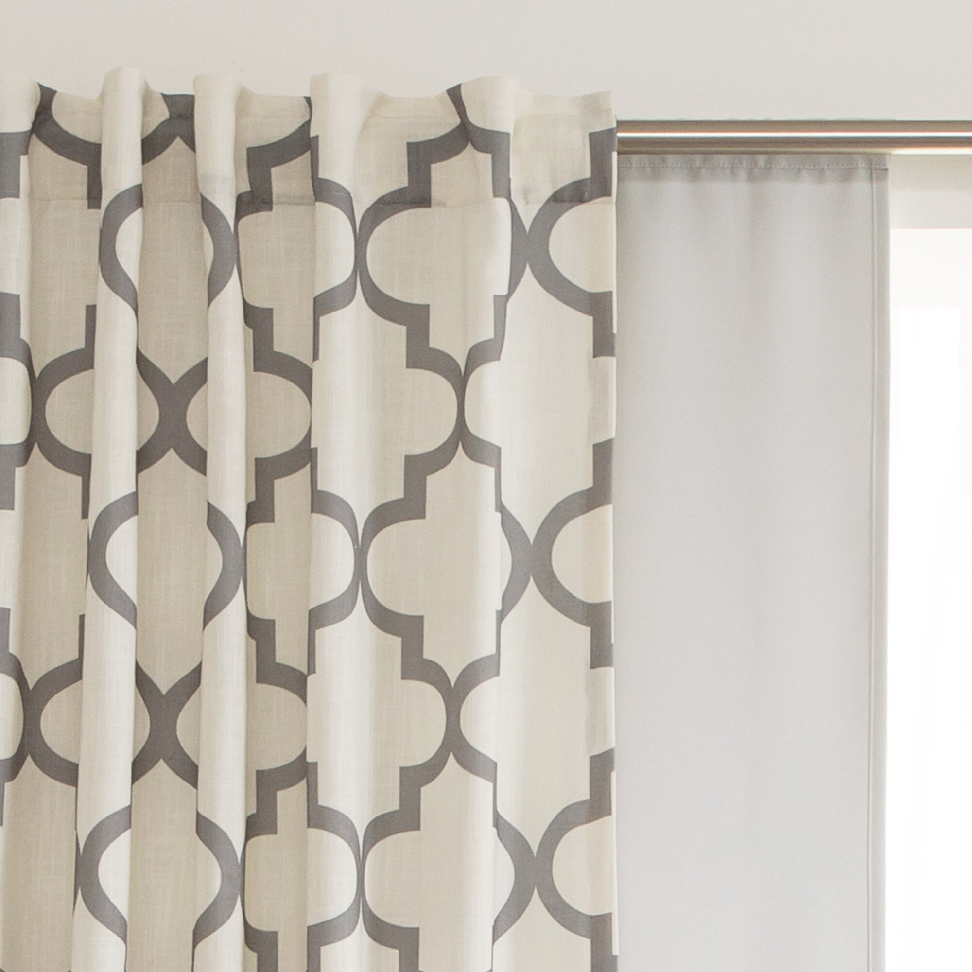 best home fashion inc blackout rod pocket curtain liner