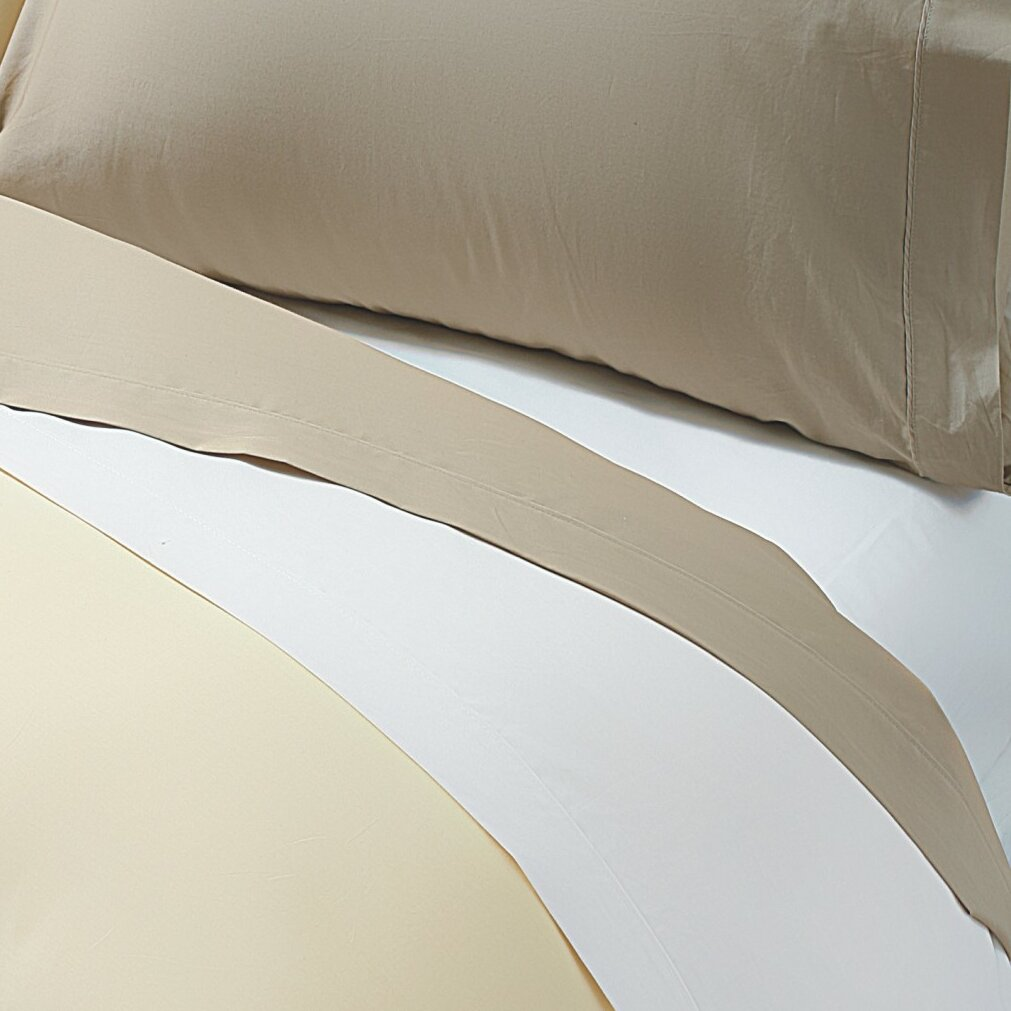 Value By Wayfair 400 Thread Count 100 Cotton Deep Fitted