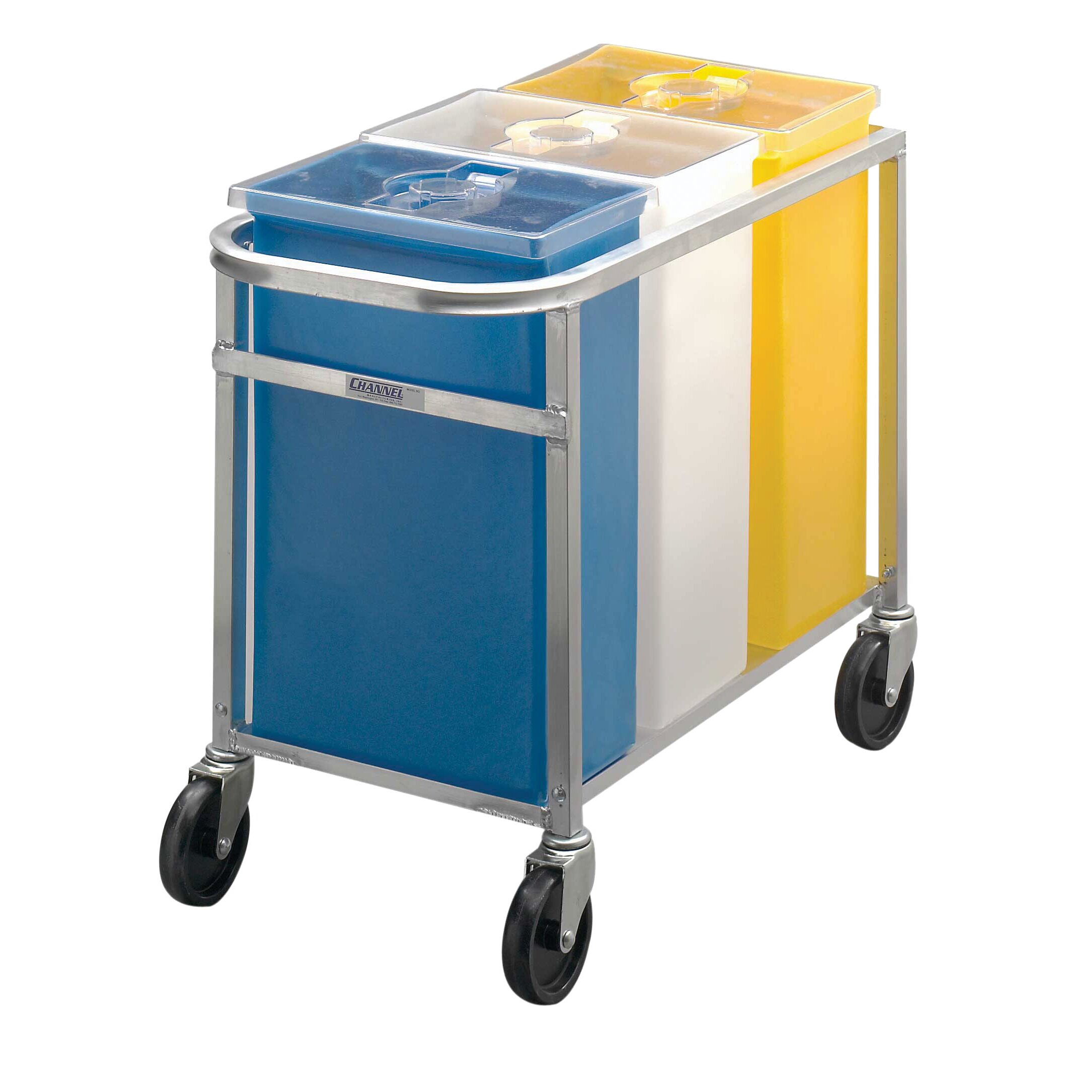 Factory Utility Cart: Channel Manufacturing Ingredient Bin Utility Cart