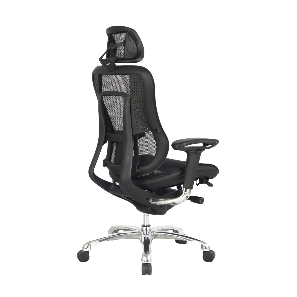 High Back Mesh Task Chair With Adjustable Arms Headrest