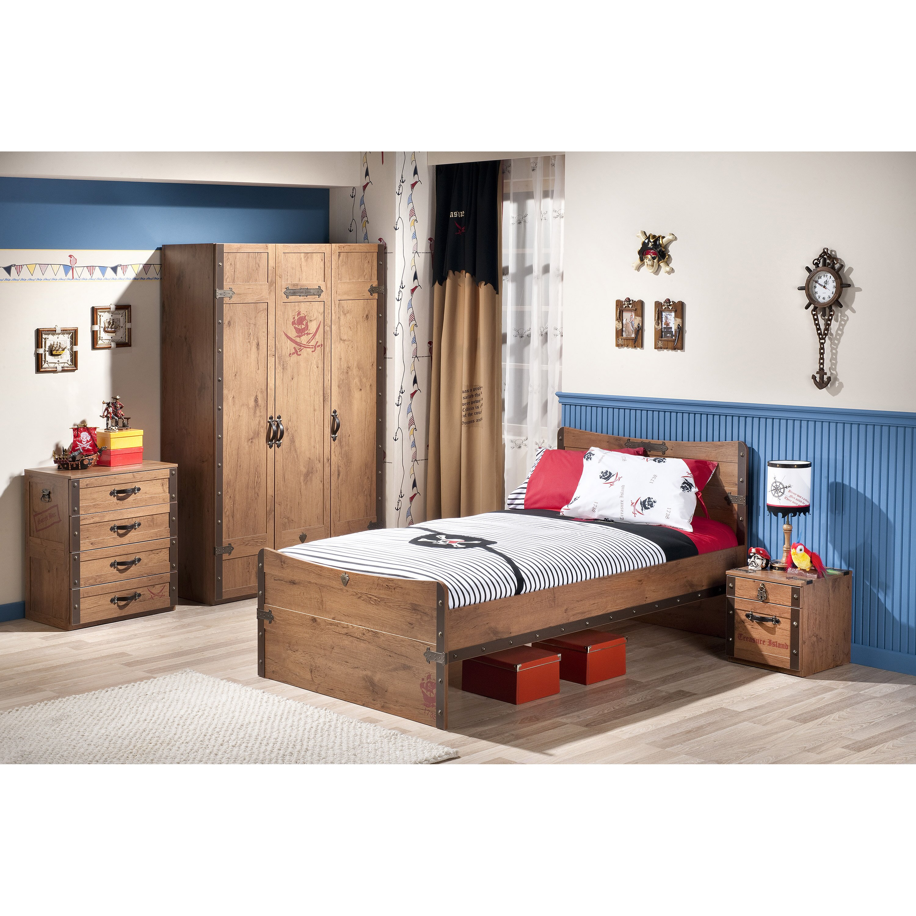 cilek pirate twin panel customizable bedroom set reviews