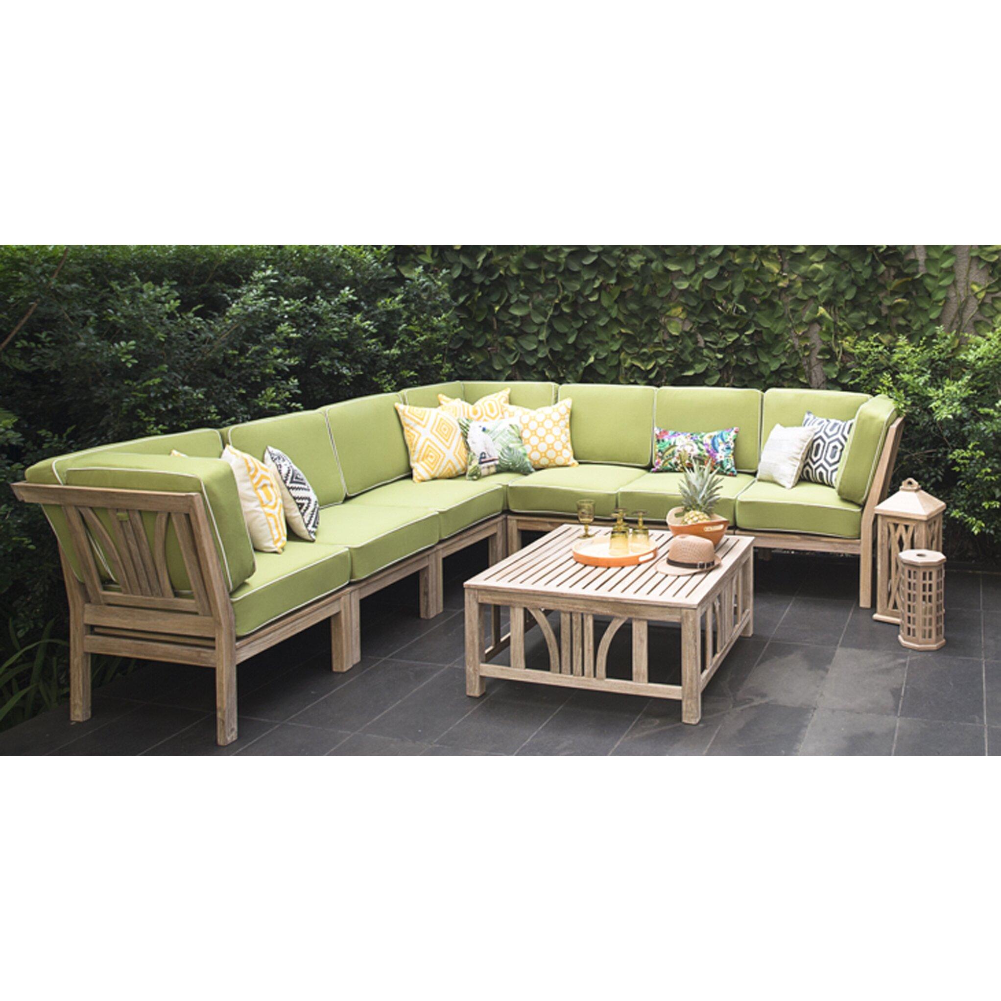 Kensington Corner Lounge Chair With Cushions