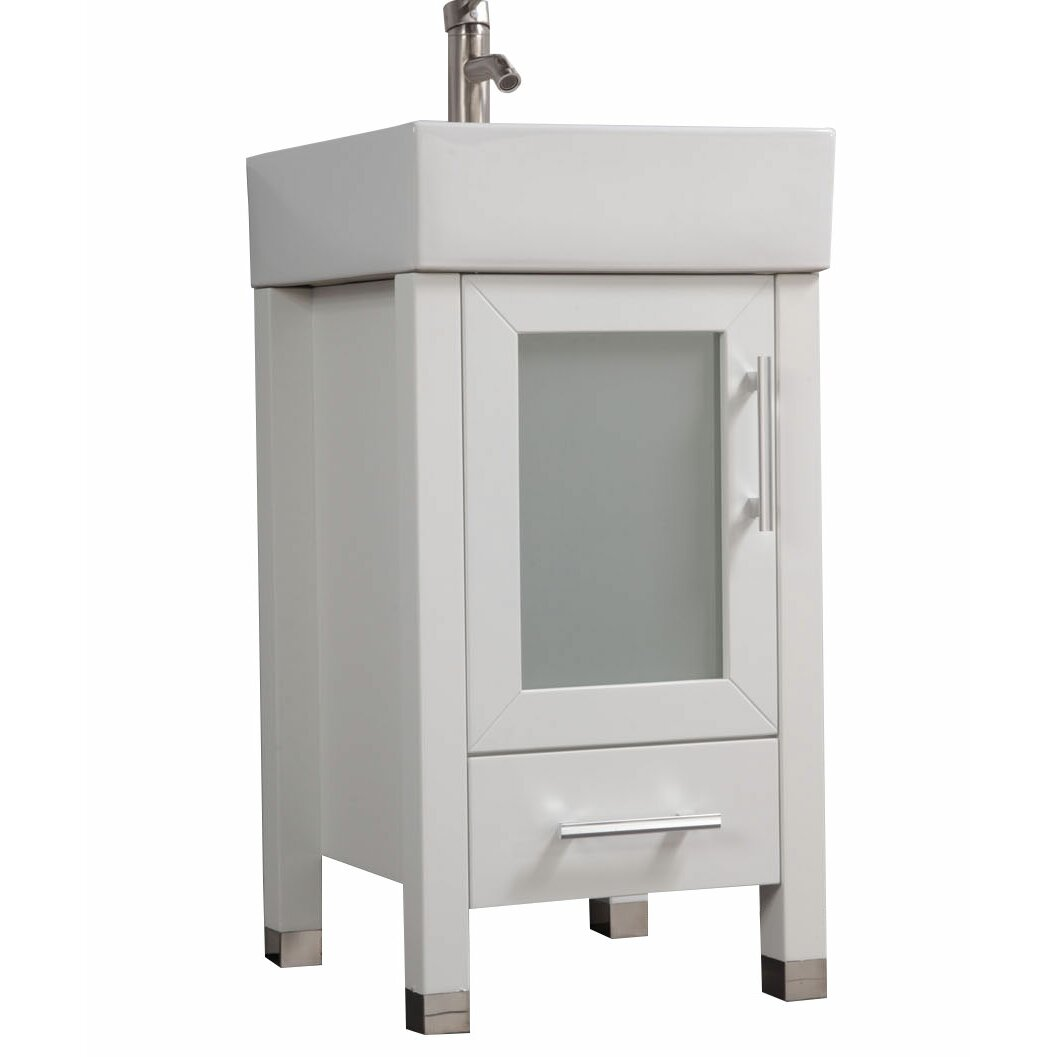 18 bathroom vanity with sink mtdvanities malta 18 quot single sink bathroom vanity set with 21759