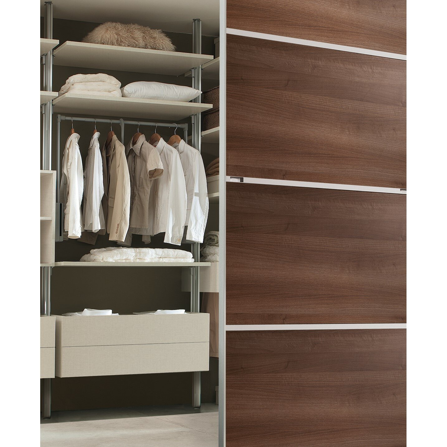 Pull Down Clothes Rod Closet Pull Down: Space Pro Relax Pull-down Closet Rod & Reviews