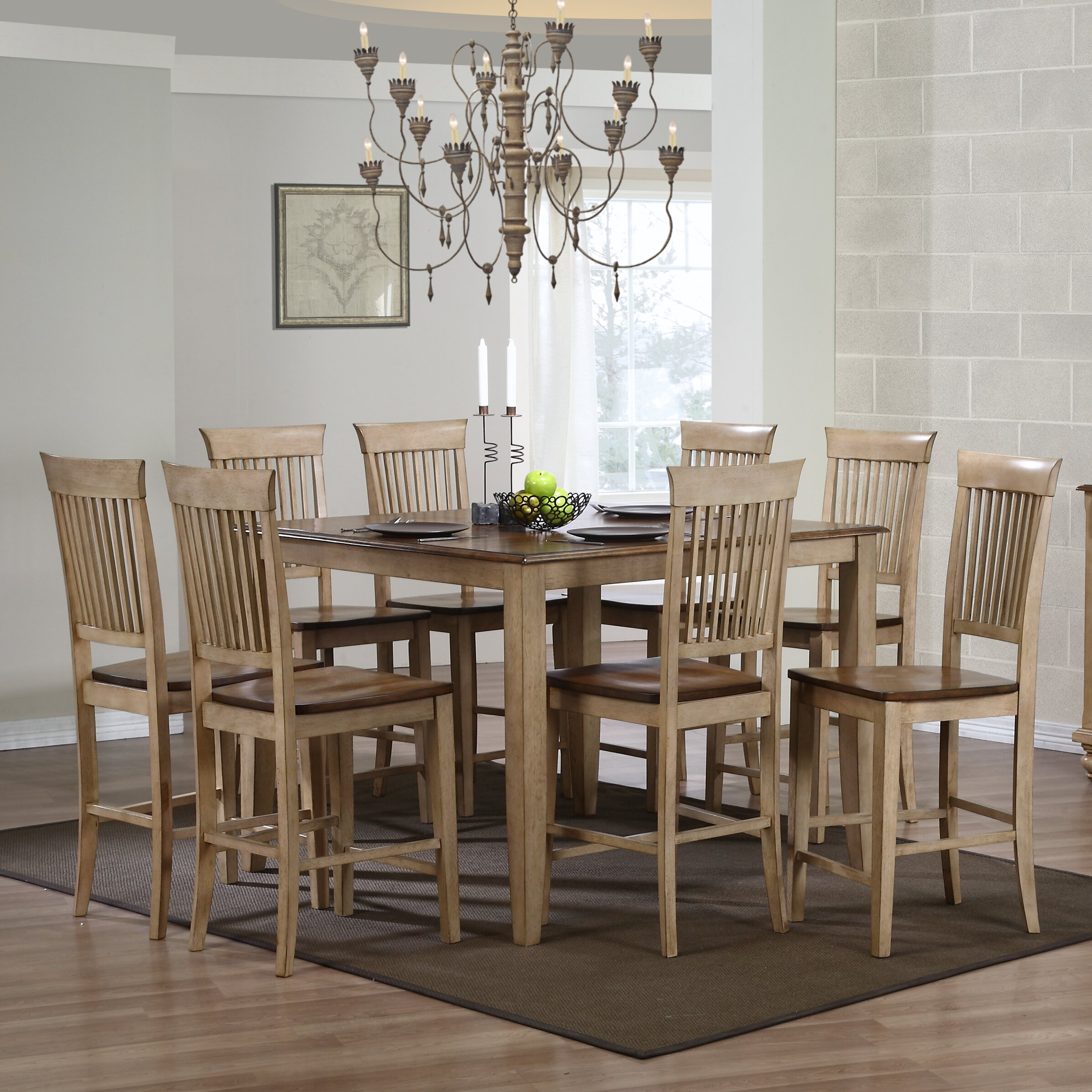 Sunset Trading Brook 10 Piece Dining Set & Reviews