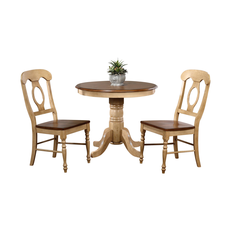 sunset trading brook 3 piece dining set reviews wayfair. Black Bedroom Furniture Sets. Home Design Ideas