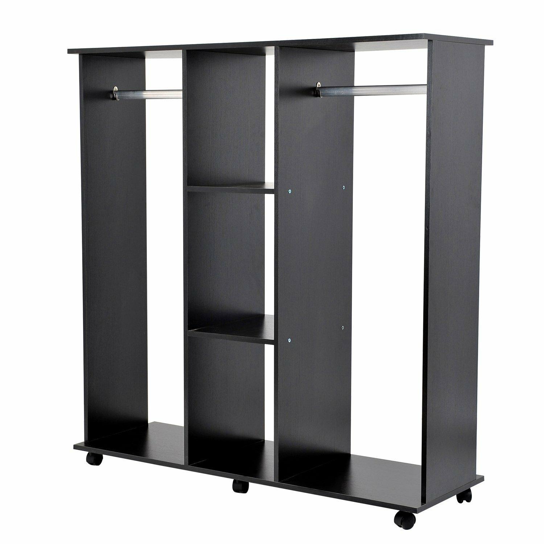 homcom wardrobe reviews wayfair uk. Black Bedroom Furniture Sets. Home Design Ideas