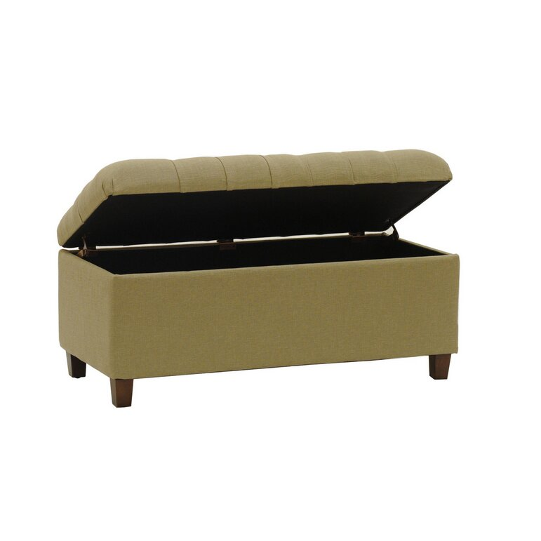Homepop Candace Tufted Storage Bench Reviews Wayfair