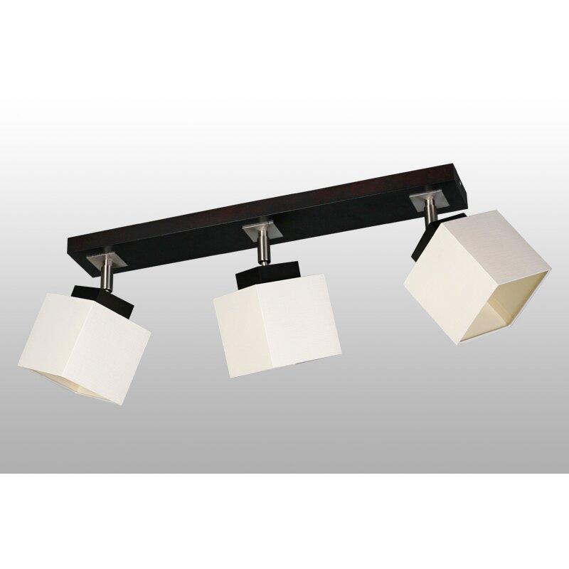 deckenstrahler 3 flammig nelio von lampex. Black Bedroom Furniture Sets. Home Design Ideas