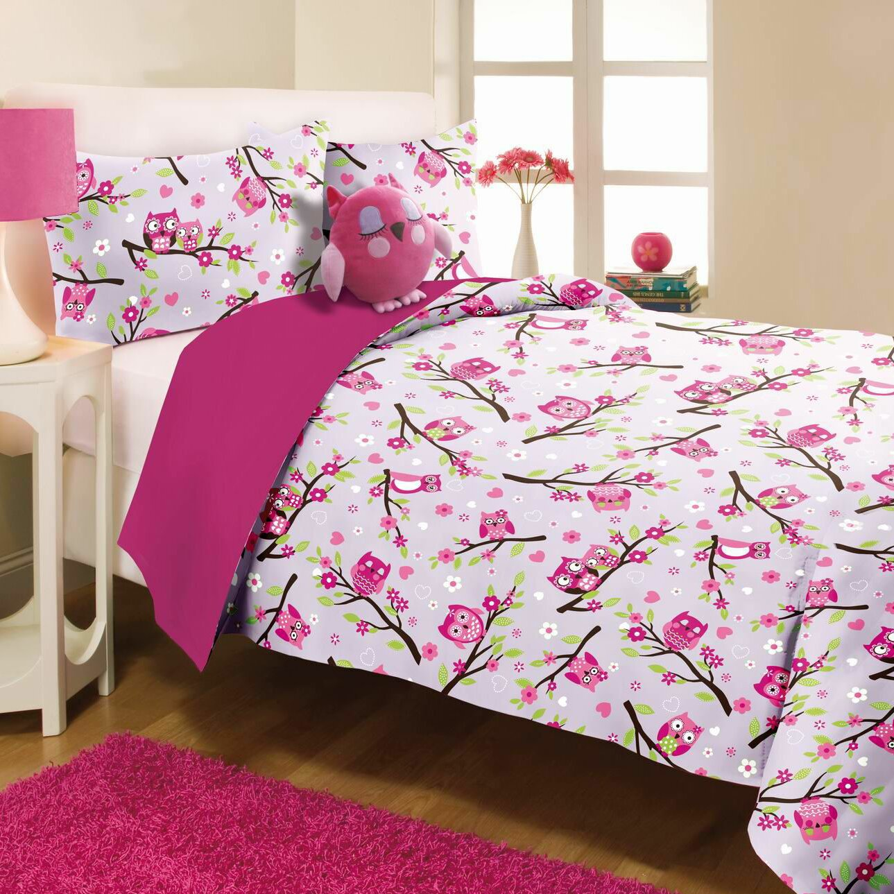 Mytex Owl Mini Comforter Set Amp Reviews Wayfair