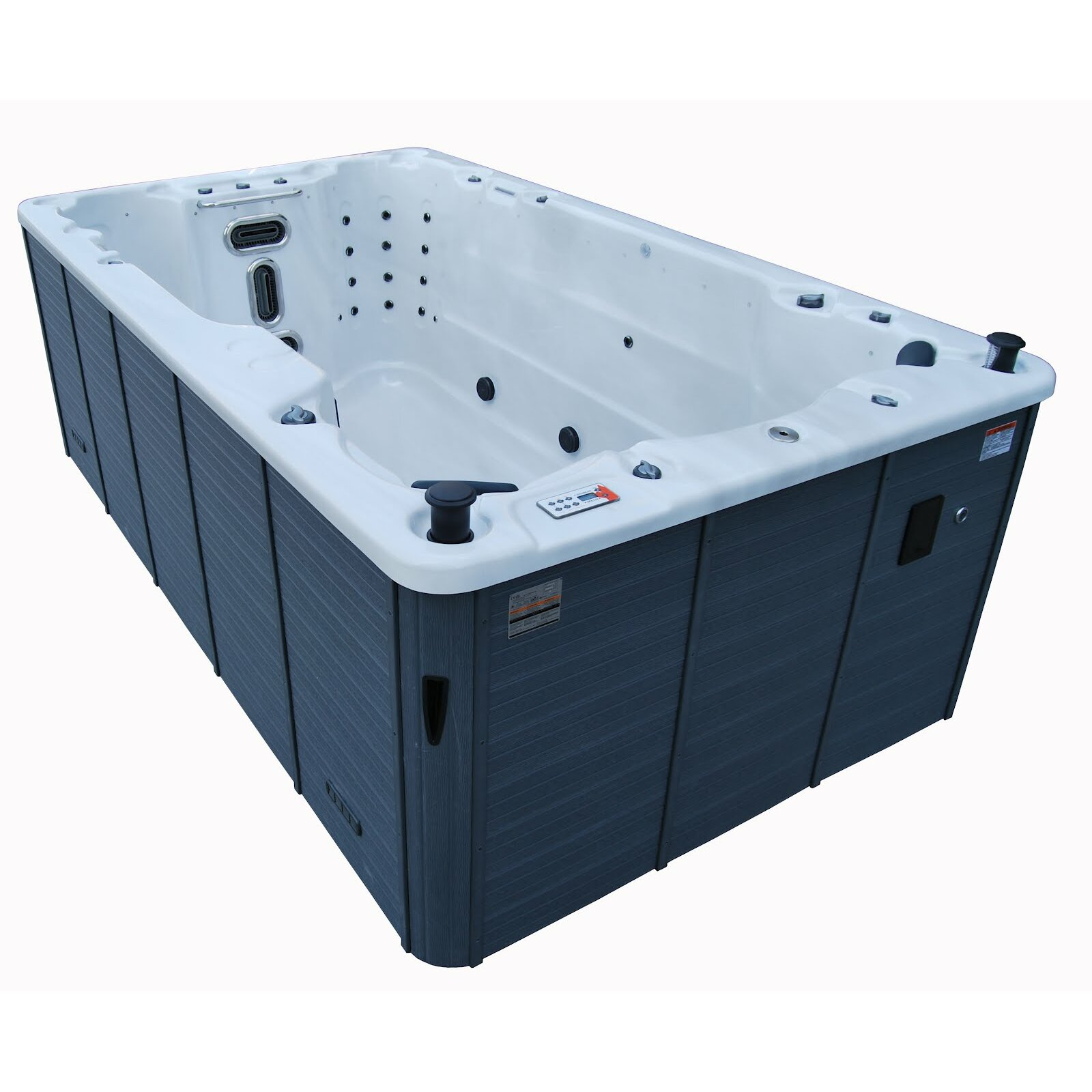 St lawrence 39 jet 156 swim spa wayfair - Jacuzzi exterieur leroy merlin ...