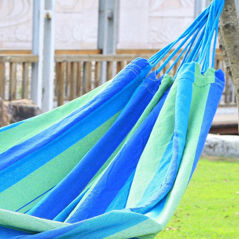 Backyard Hammock Bed :  Tree Hanging Suspended IndoorOutdoor Hammock Bed & Reviews  Wayfair