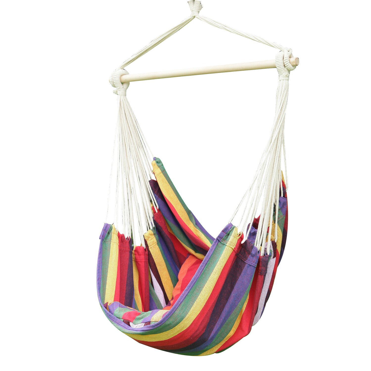 AdecoTrading Tree Hanging Suspended Indoor/Outdoor Hammock Chair with ...