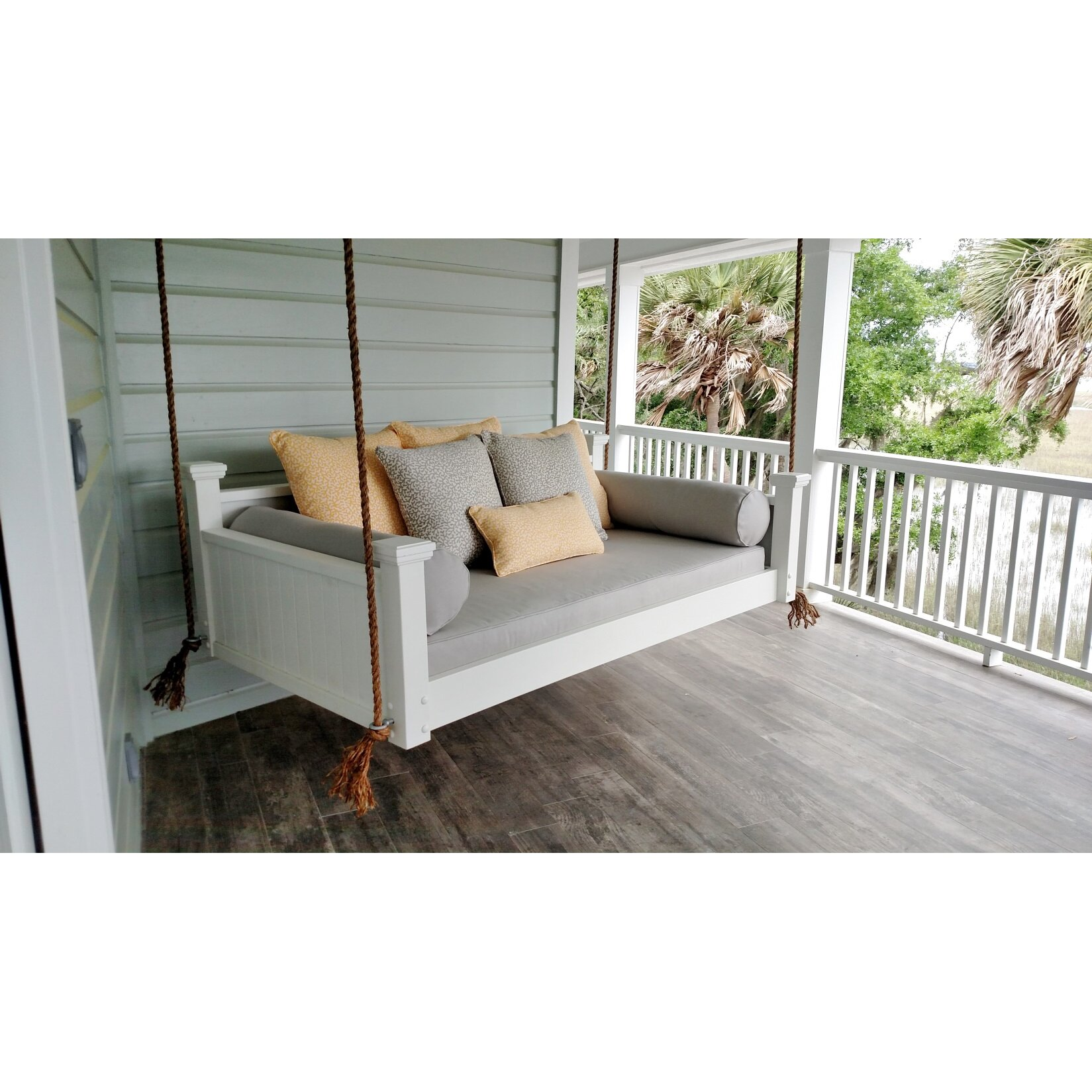 Outdoor Patio Furniture ... Porch Swings Custom Carolina SKU: CCHB1020