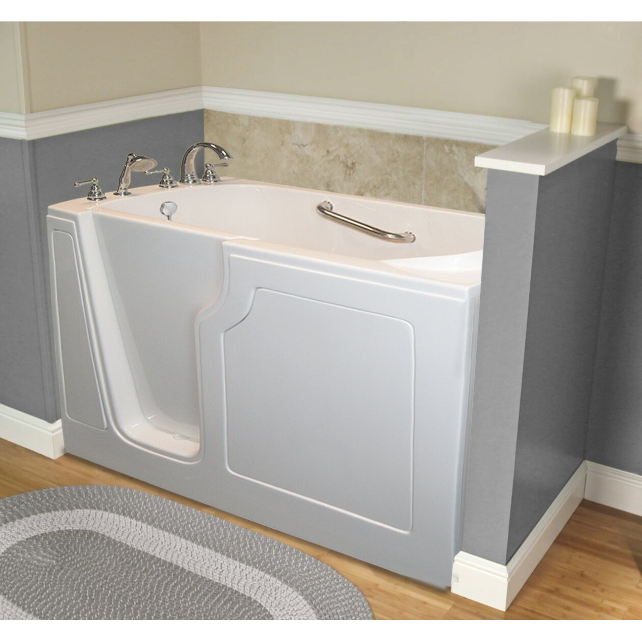 Dignity 48 X 28 Whirlpool Jetted Walk In Bathtub Wayfair