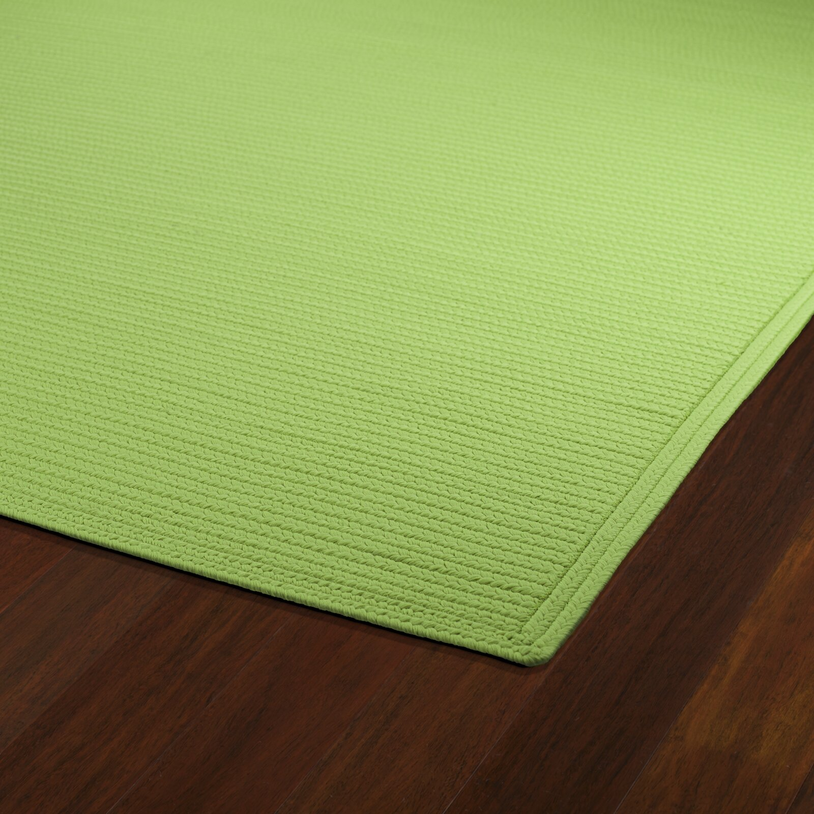 Kaleen Bikini Lime Green Indoor Outdoor Area Rug & Reviews