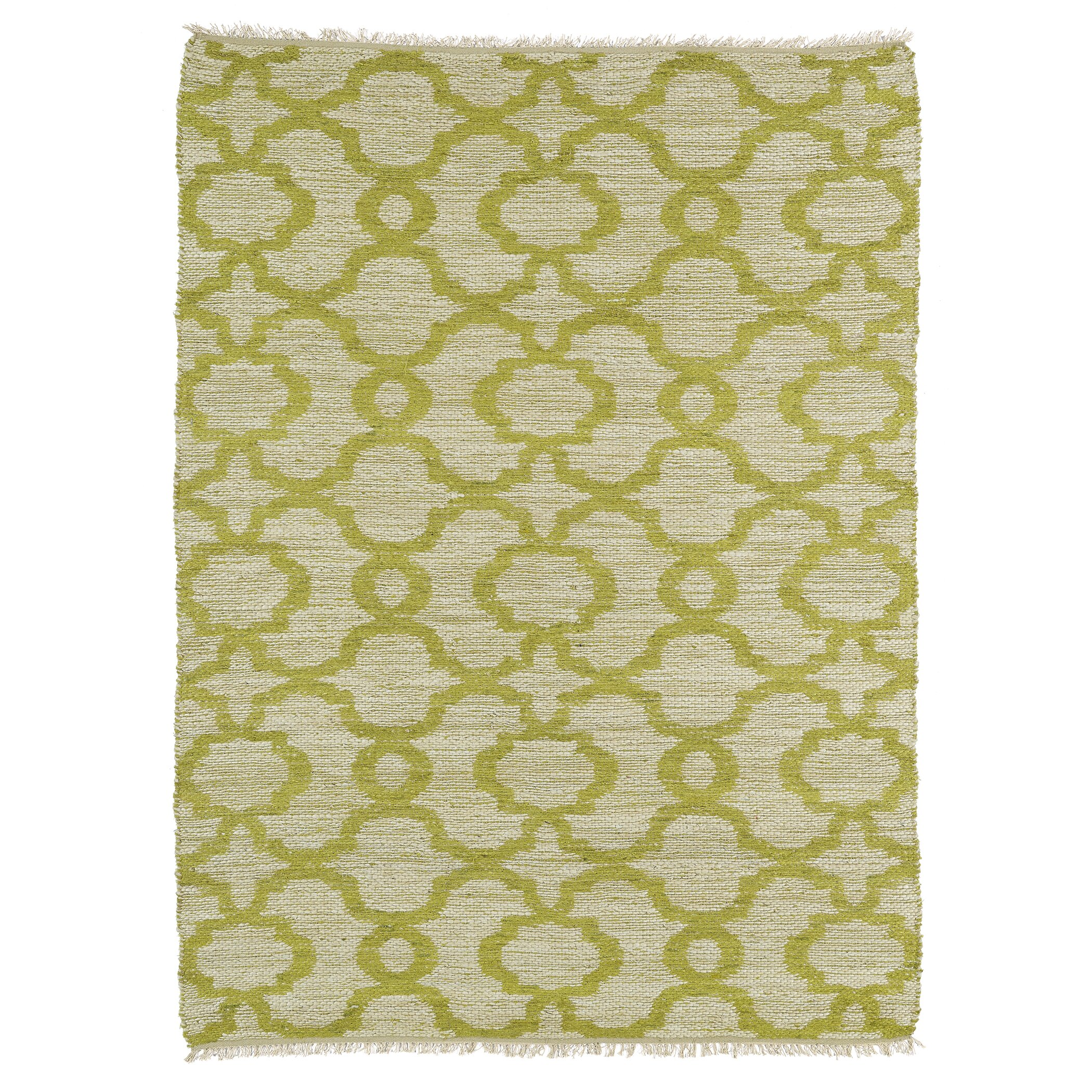 Lime Green Overdyed Rug: Kenwood Lime Green Area Rug
