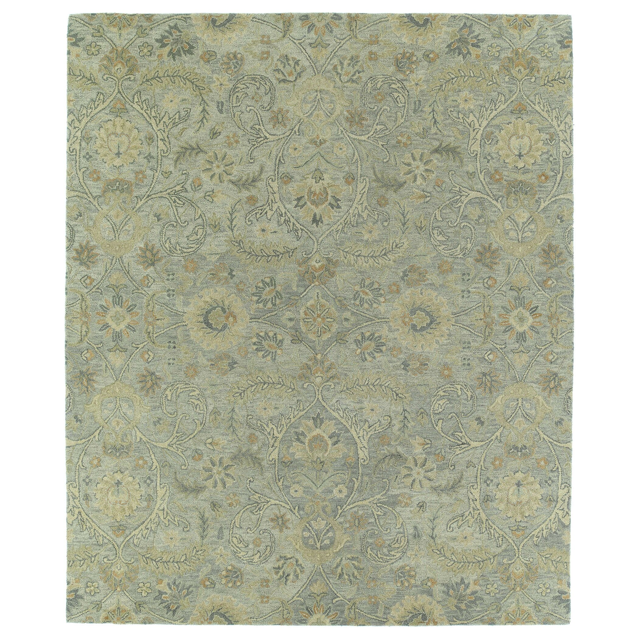 Kaleen Helena Turquoise Area Rug Reviews: Kaleen Helena Silver Athena Rug & Reviews