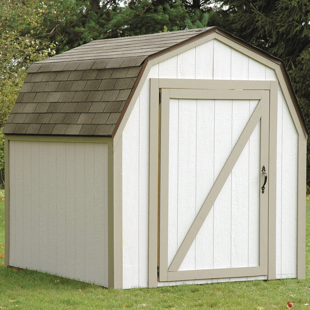 2x4 basics barn roof shed kit reviews wayfair supply - Garden sheds michigan ...