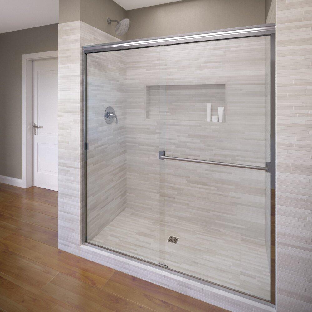 70 x 60 frameless bypass sliding shower door reviews