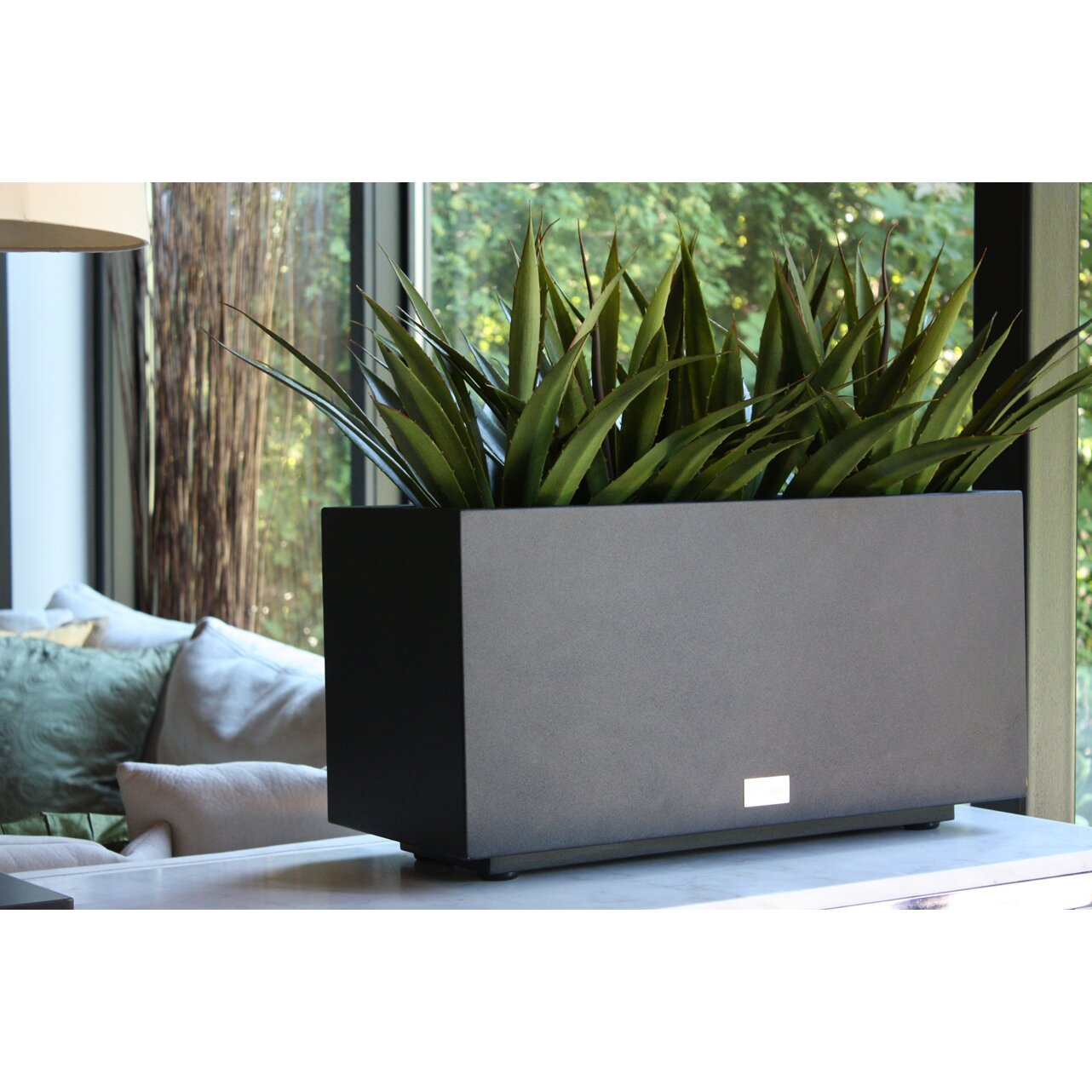 Veradek Metallic Series Rectangular Planter Box & Reviews