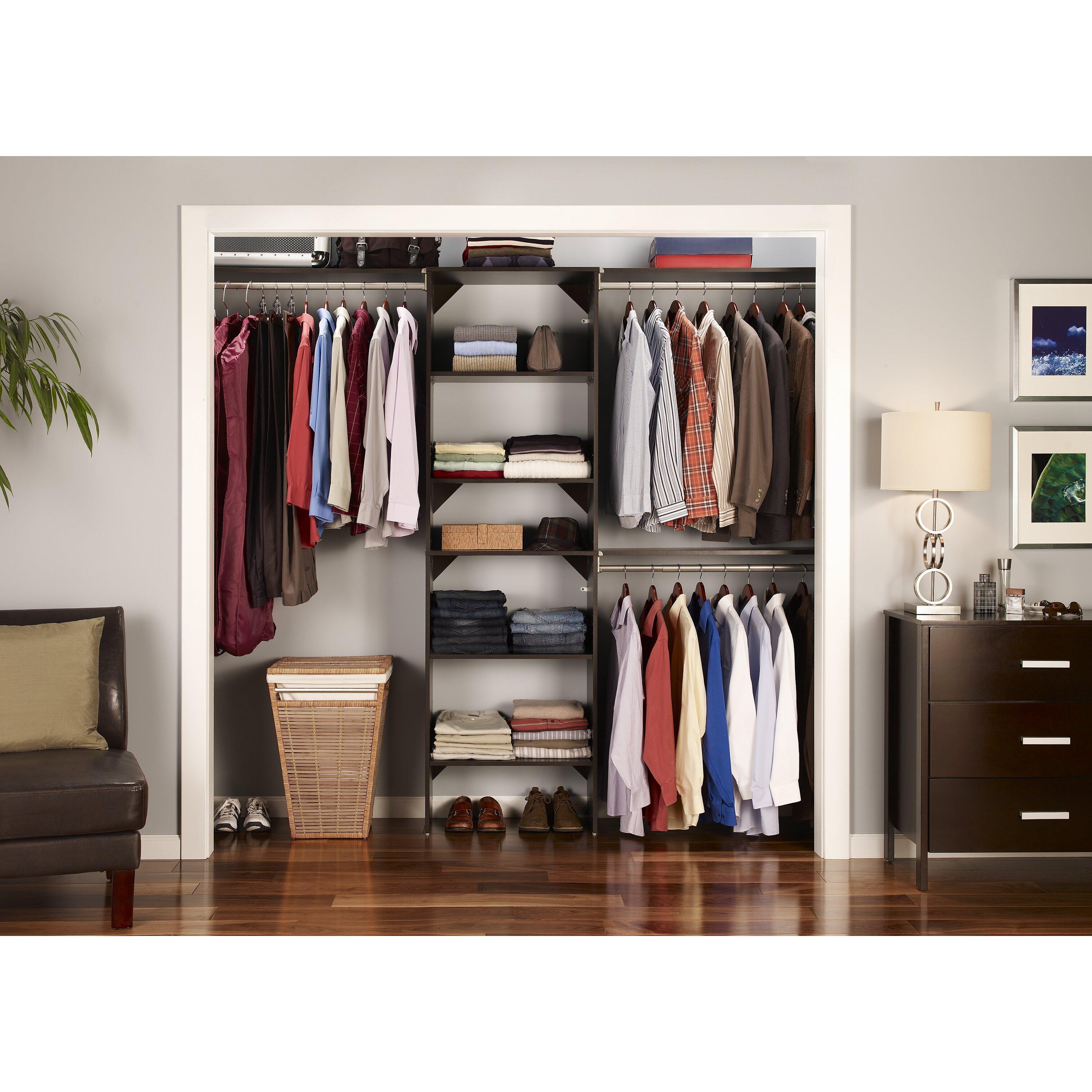ClosetMaid SuiteSymphony Closet Organizer Starter Kit
